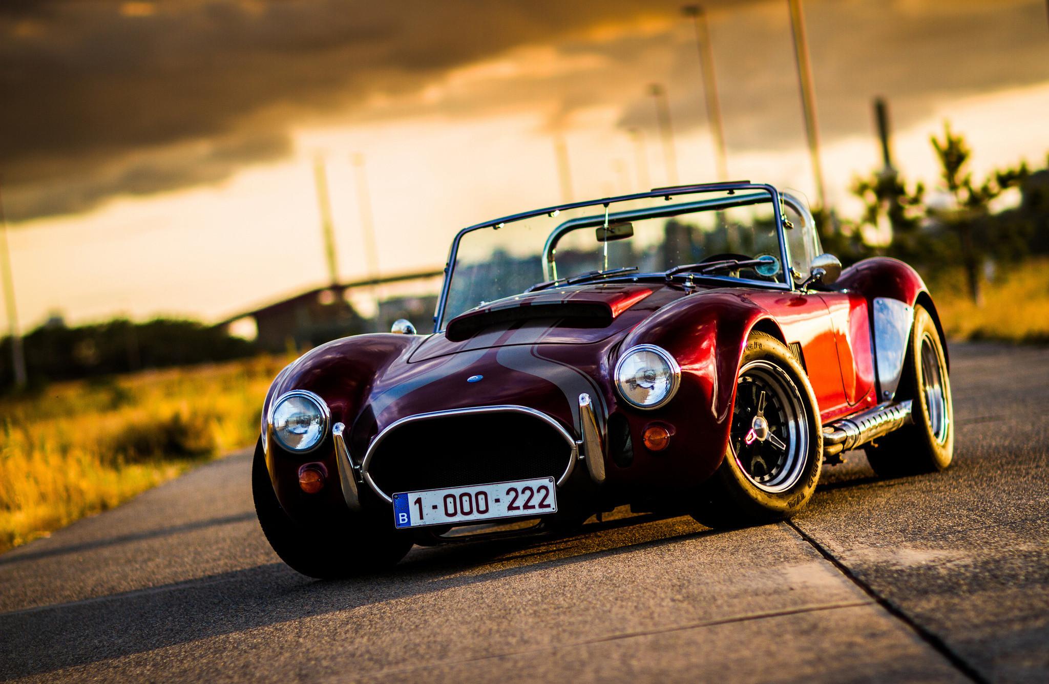 Cobra Classic Car Rod Ford Muscle Car Full HD Easy On The Eye Wallpaper  High Definition