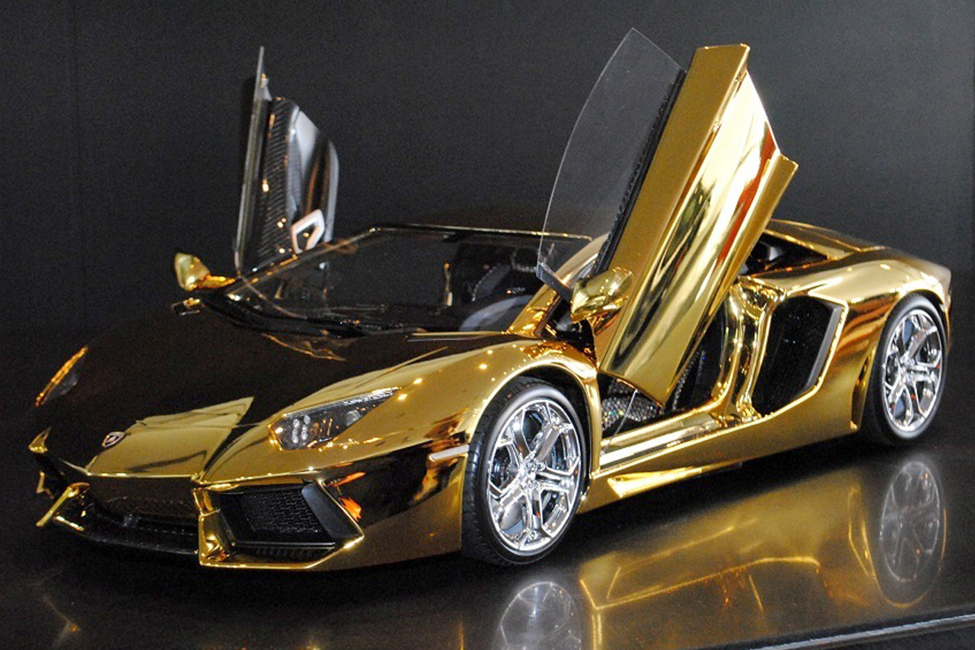 solid gold Lamborghini and 6 other supercars | New York Post