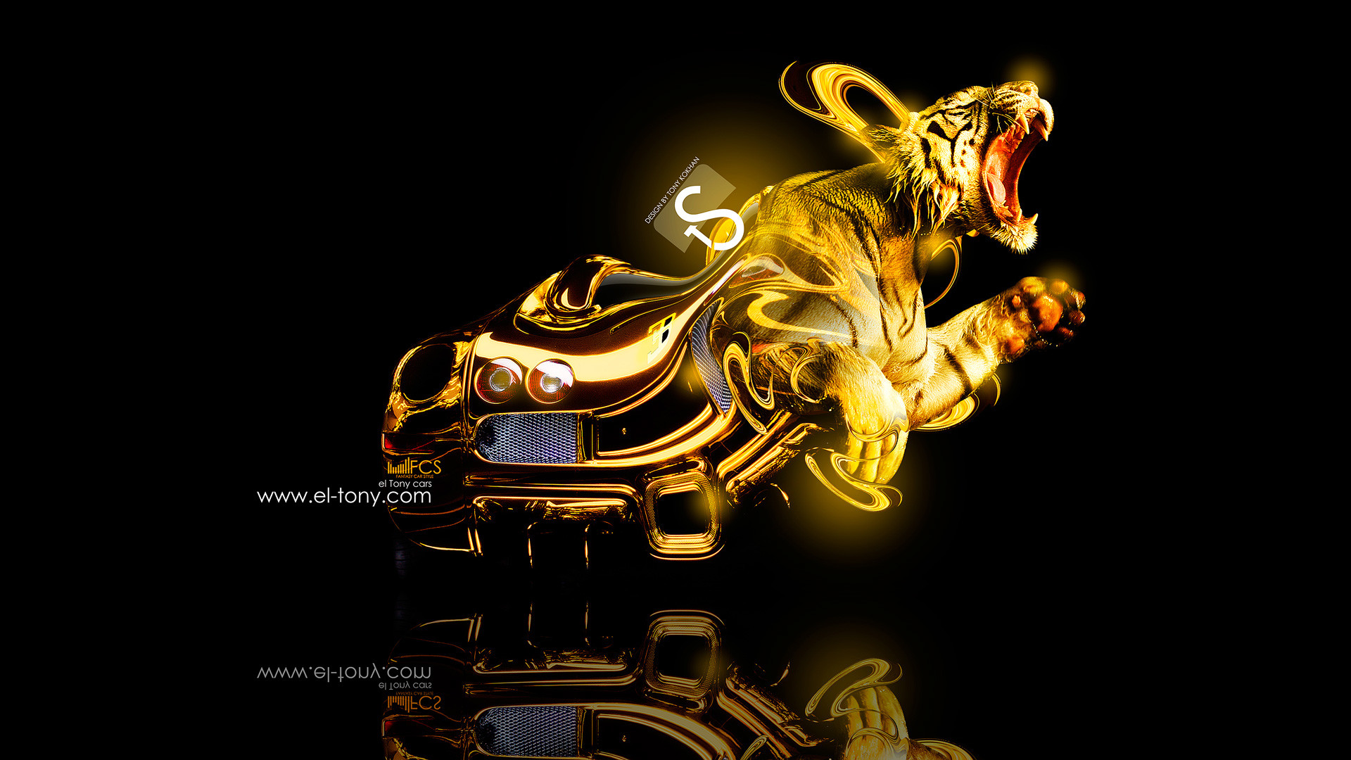 Cool Gold Cars Wallpapers – CHGLand.info