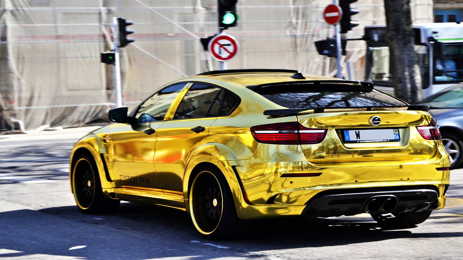 Gold BMW X6M Custom Hamann Supreme Edition #1