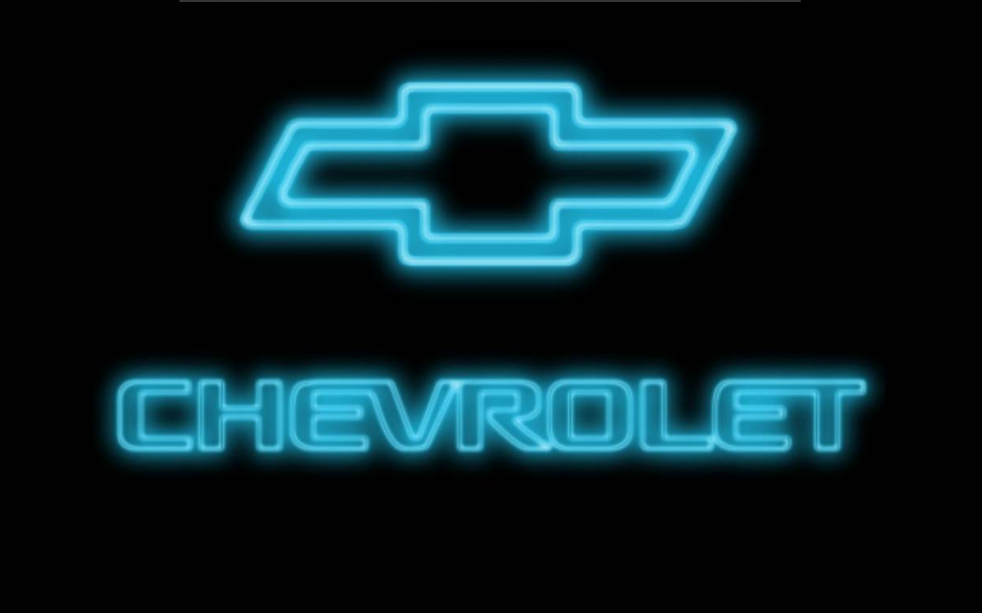 Chevy Logo Wallpaper iPhone. Neon Blue Chevy Logo