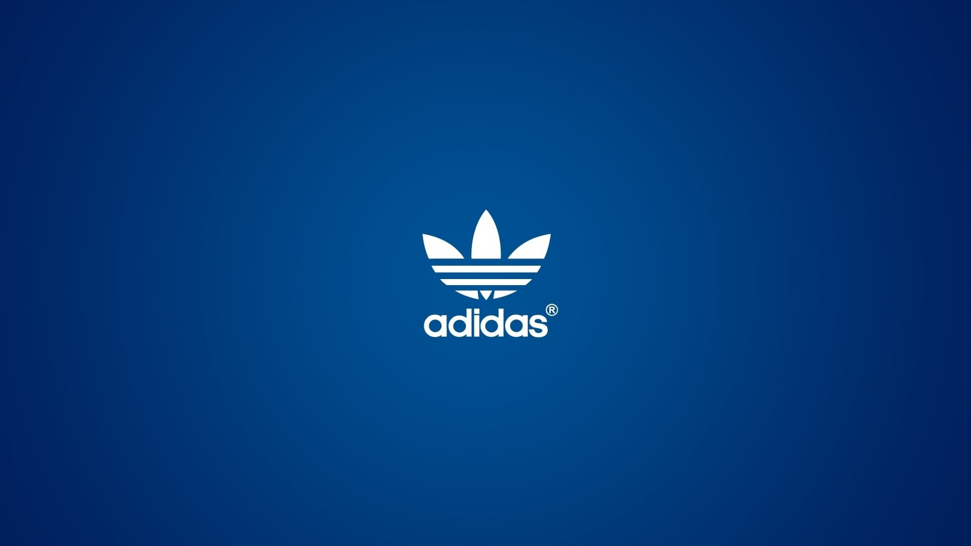 Adidas Blue Logo HD Wallpaper 1080p