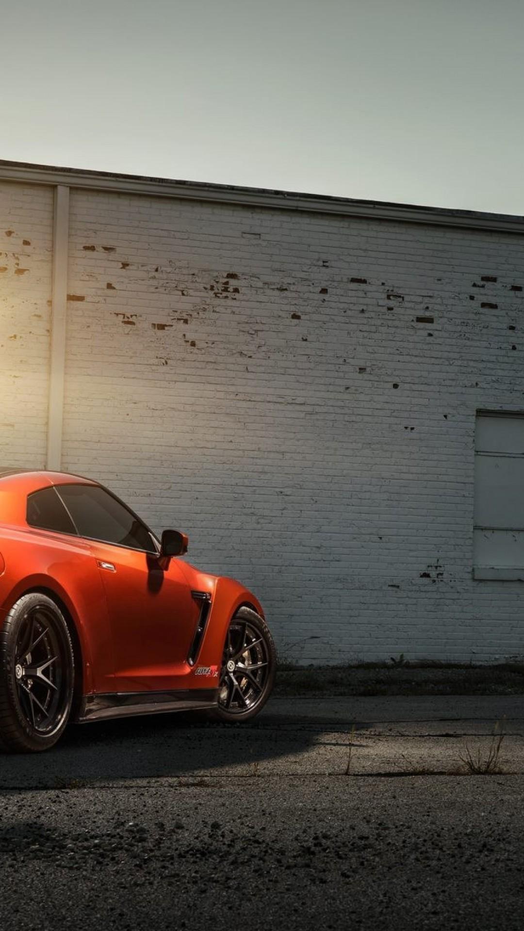 Cars, Nissan Gtr, Sunset