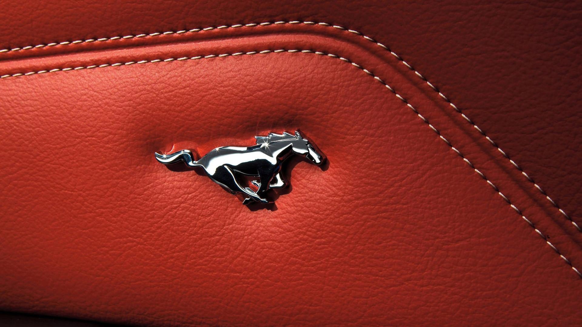 Ford Mustang Emblem logo 57