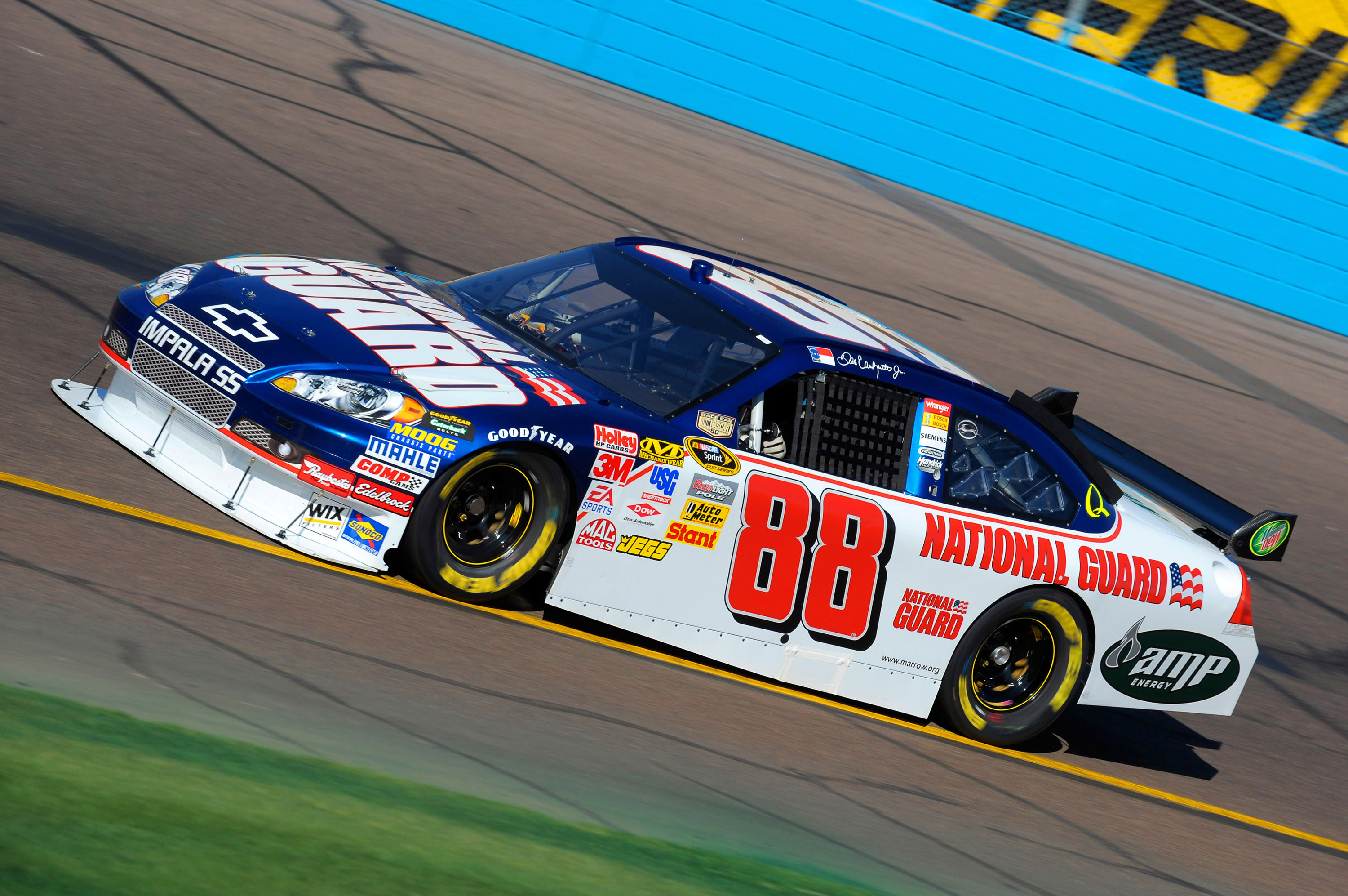 Earnhardt and Guard car team climb to third in point standings