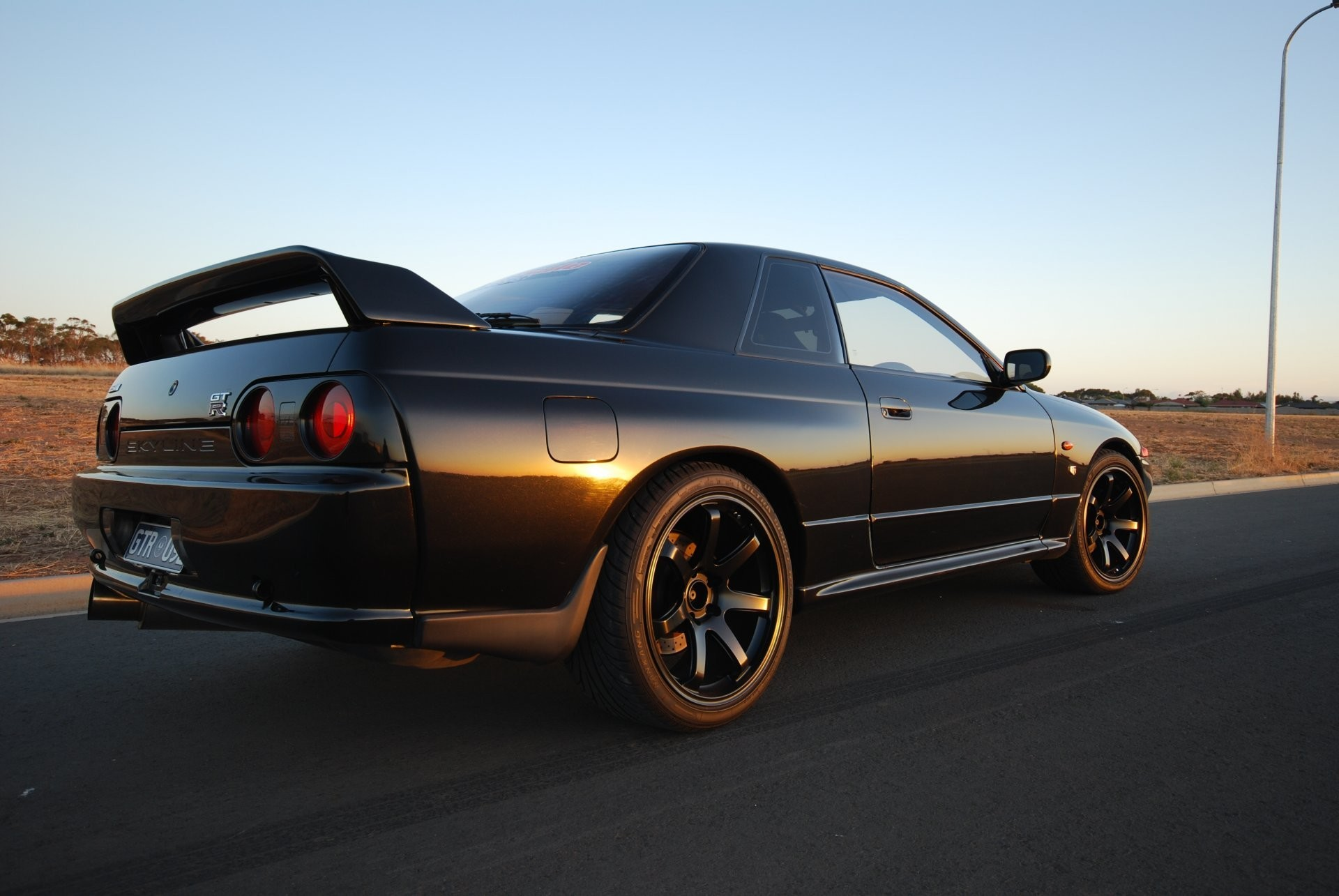 nissan skyline gt-r r32 coupe black japan wallpapers drift jdm nissan  skyline jeet –