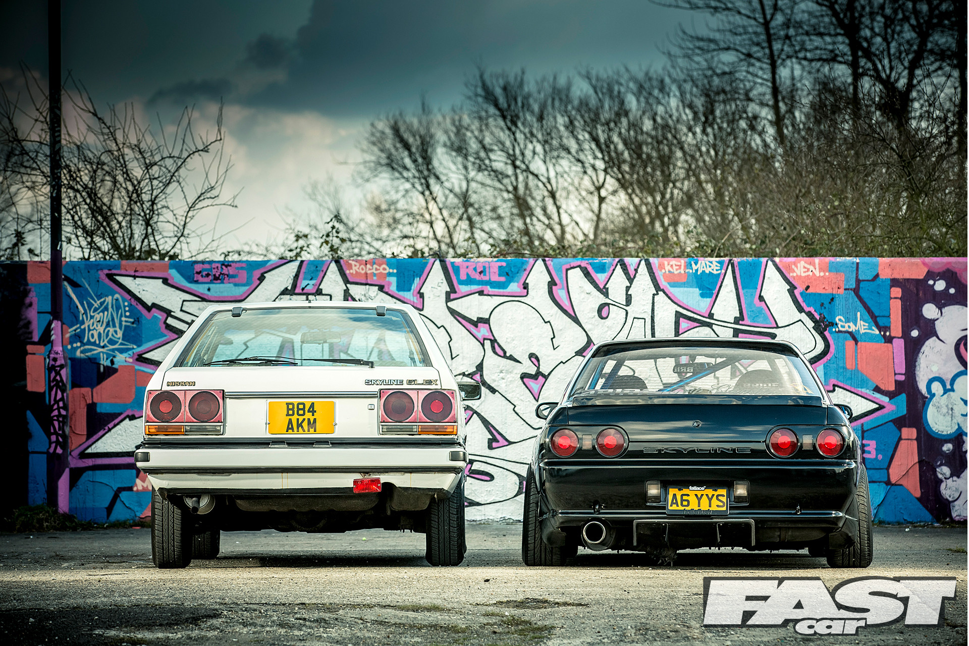 Nissan Skyline R32 wallpaper desktop