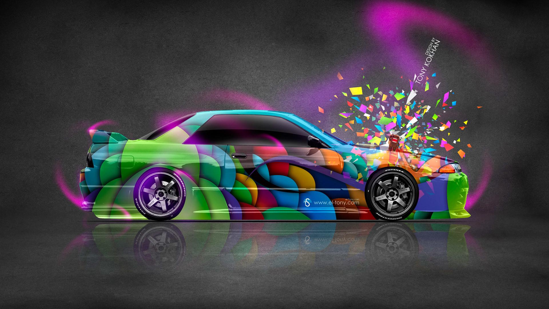 … Nissan Skyline GTR R32 JDM Style Domo Kun Toy Car 2014