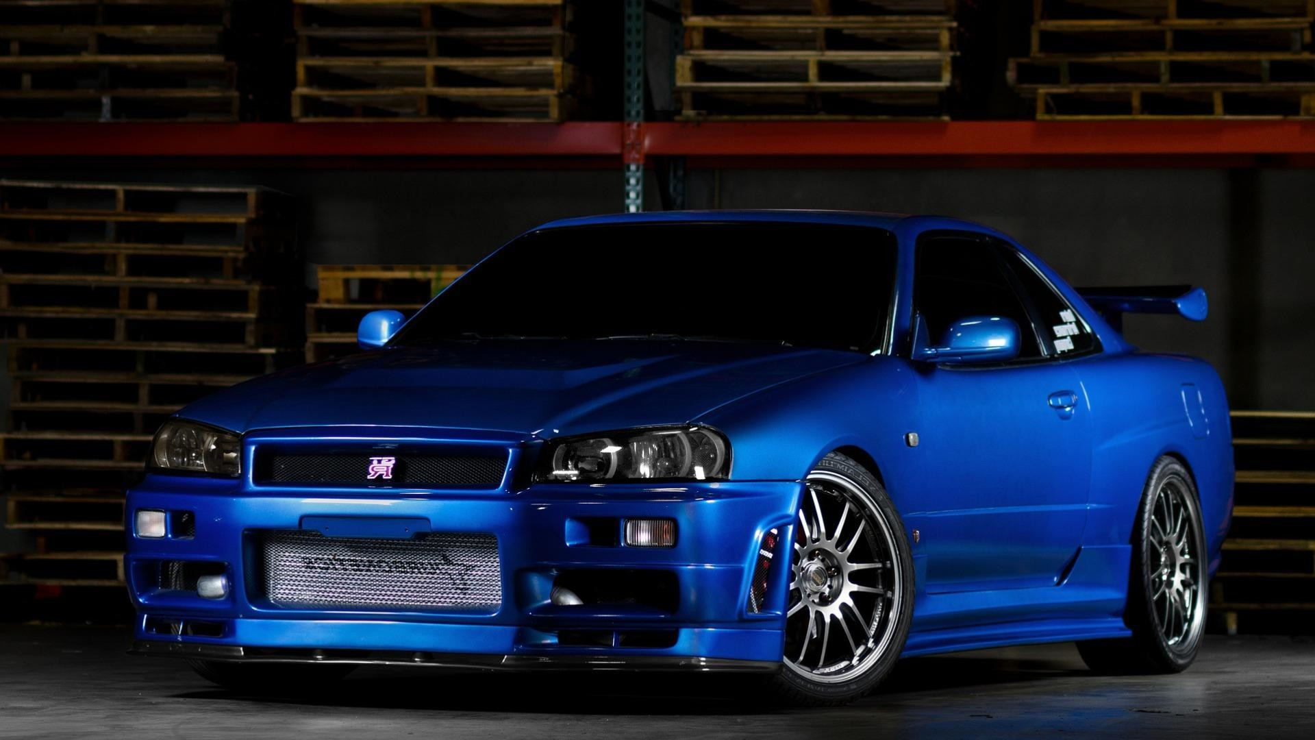 Nissan Skyline Gtr R34 Desktop Hd Wallpapers