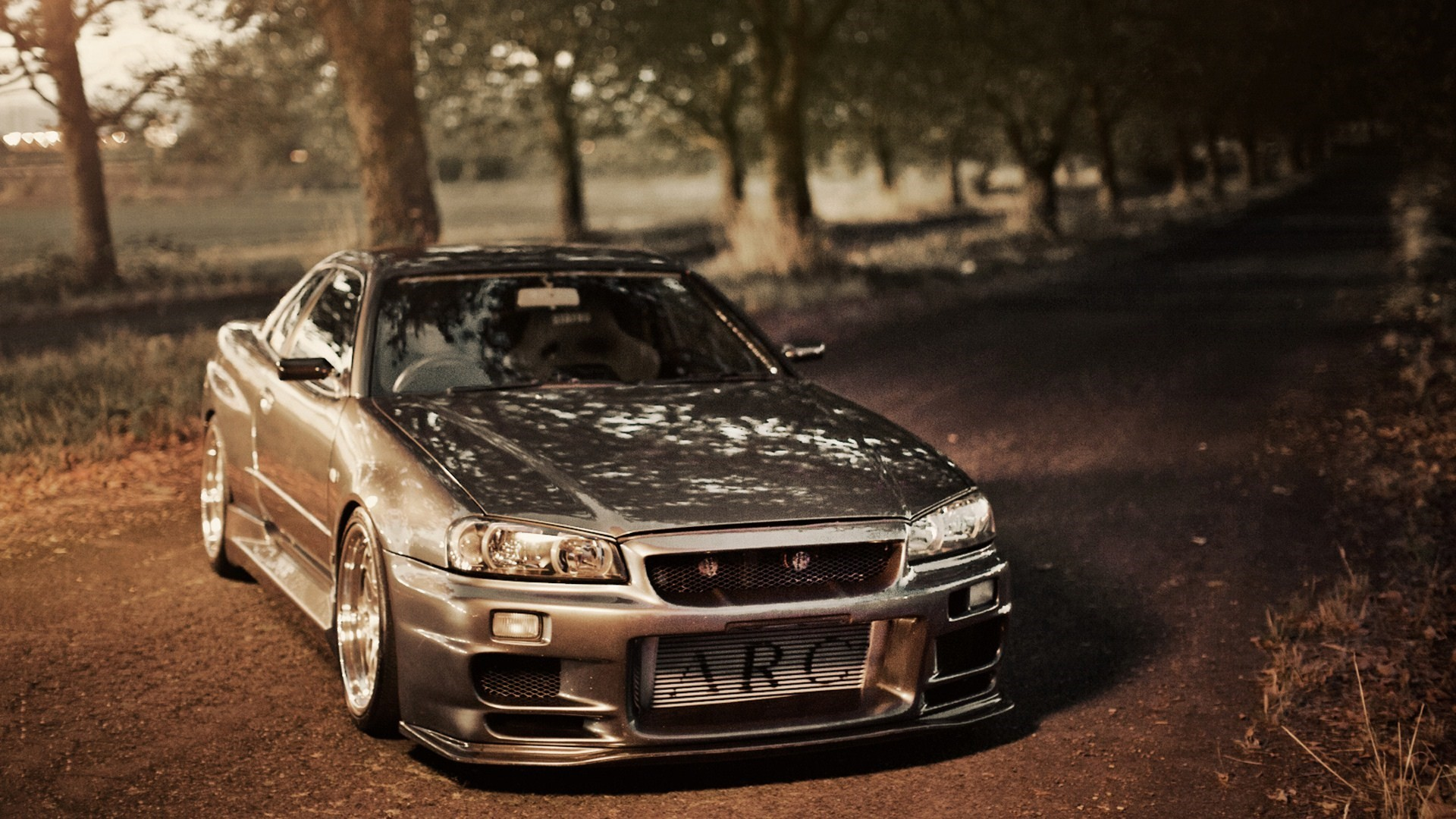 Nissan Skyline Gt-r R34 Tuning Road Photo Hd Wallpaper | Wallpaper .