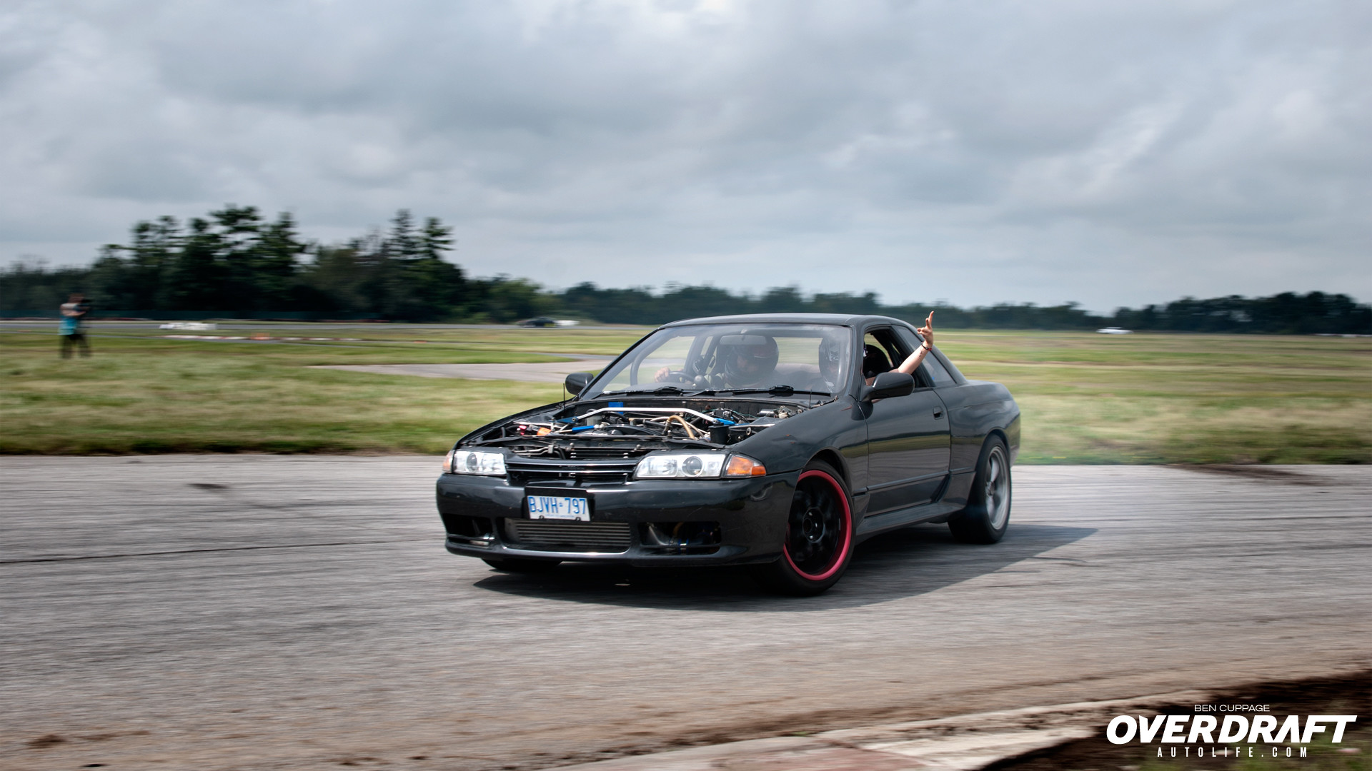 Nissan Skyline Drifting.