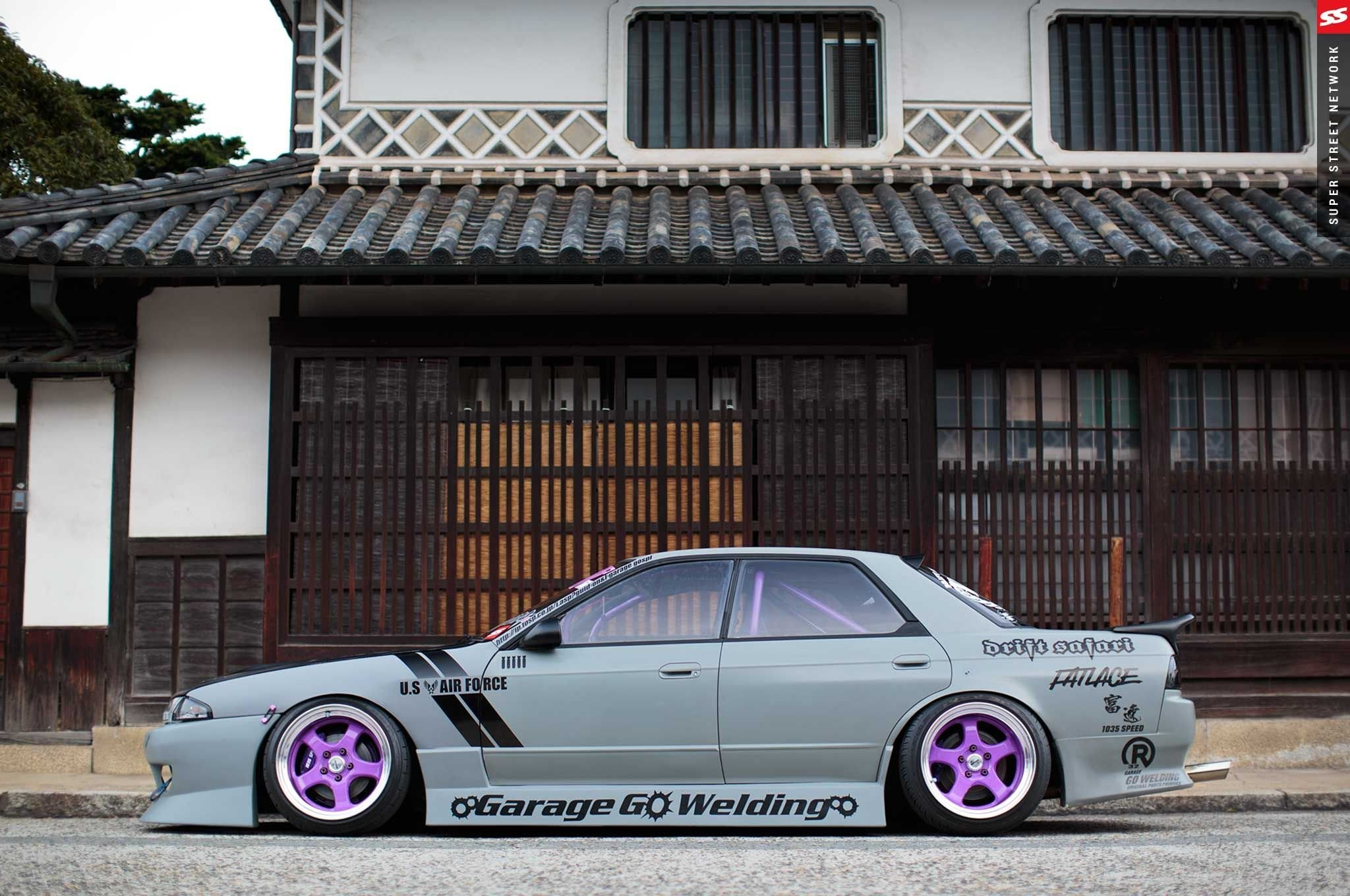 1991 nissan r32 skyline sedan cars modified wallpaper | | 805060  | WallpaperUP