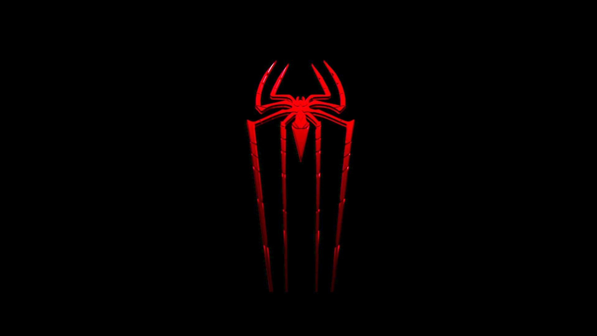 Image for Black Spiderman Logo Cool Wallpapers
