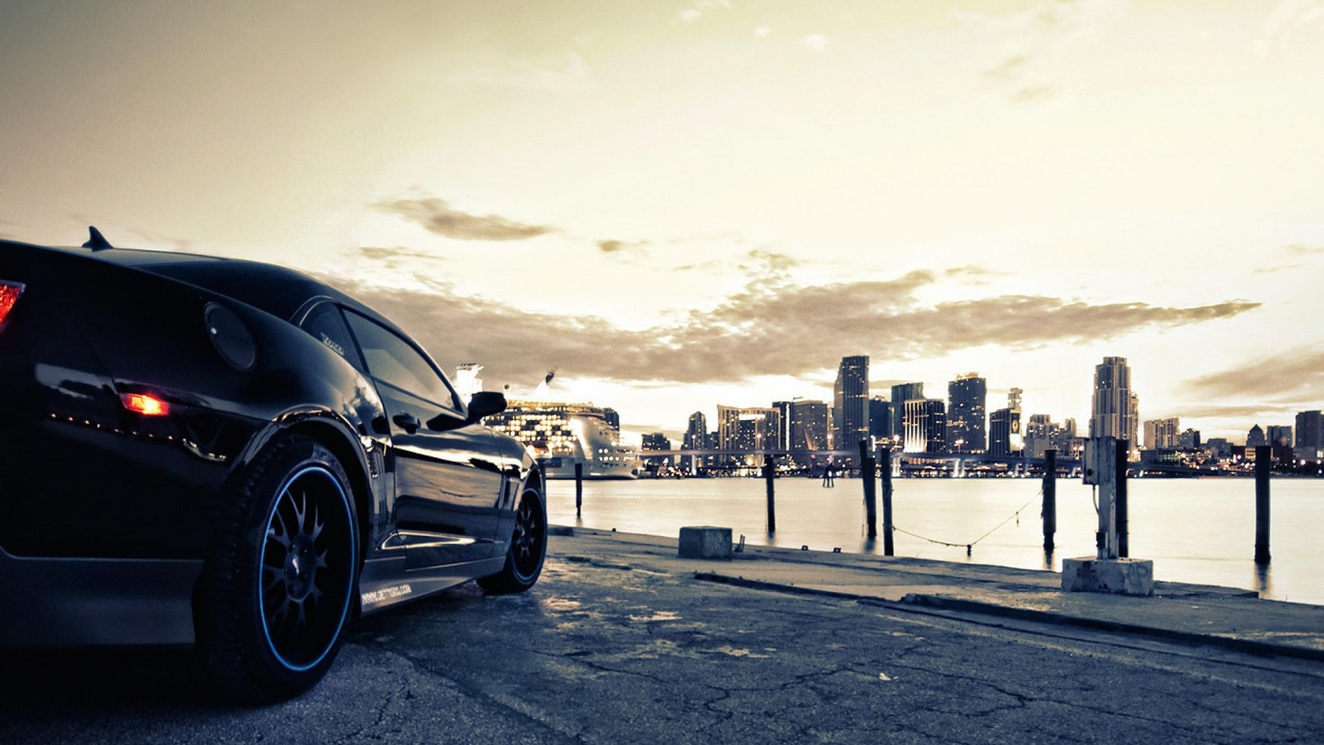 auto, black, style