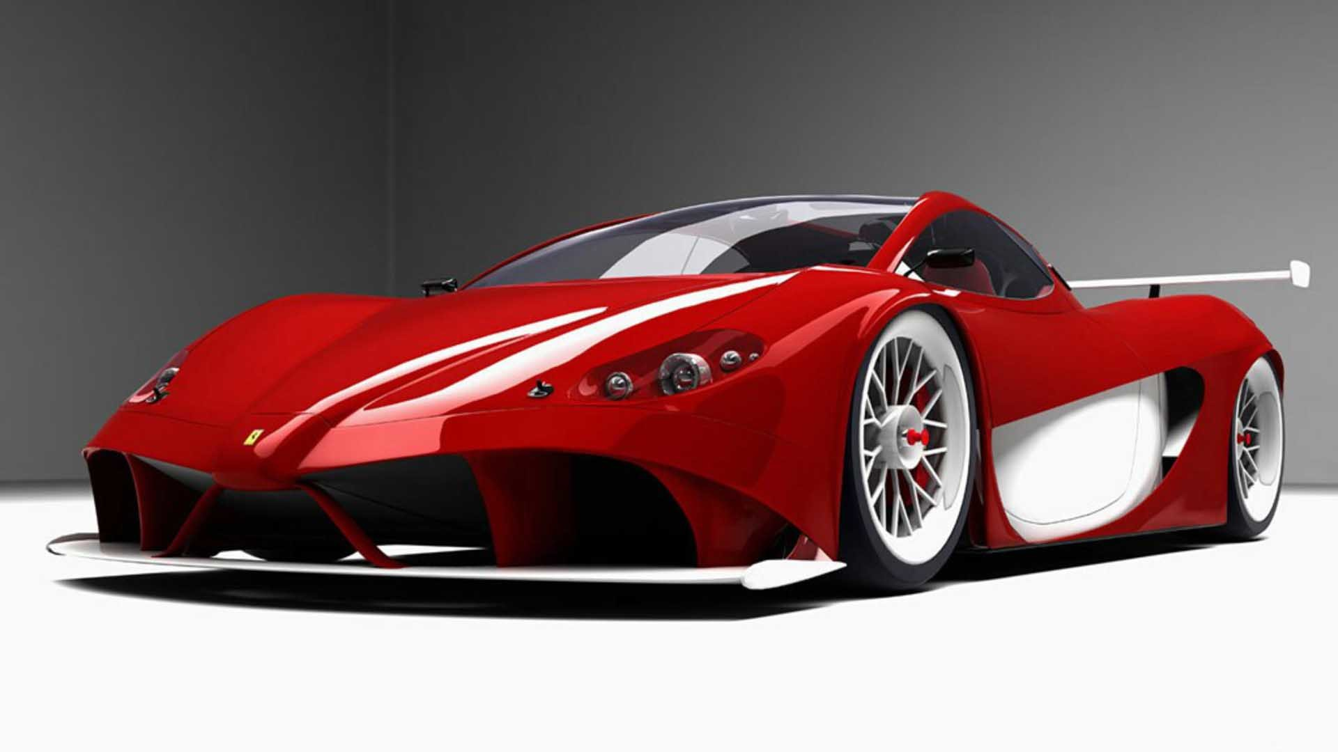 Ferrari 4 Aurea Desktop Wallpaper Pic 4