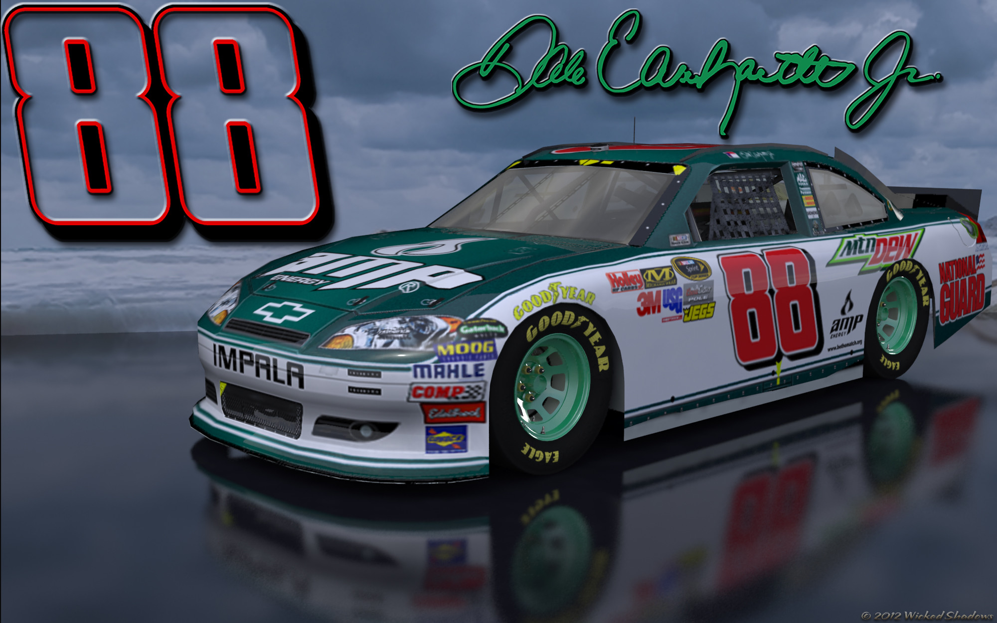 Dale Earnhardt Jr Amp Green 1 Outdoors Wallpaper With a sweet beach .