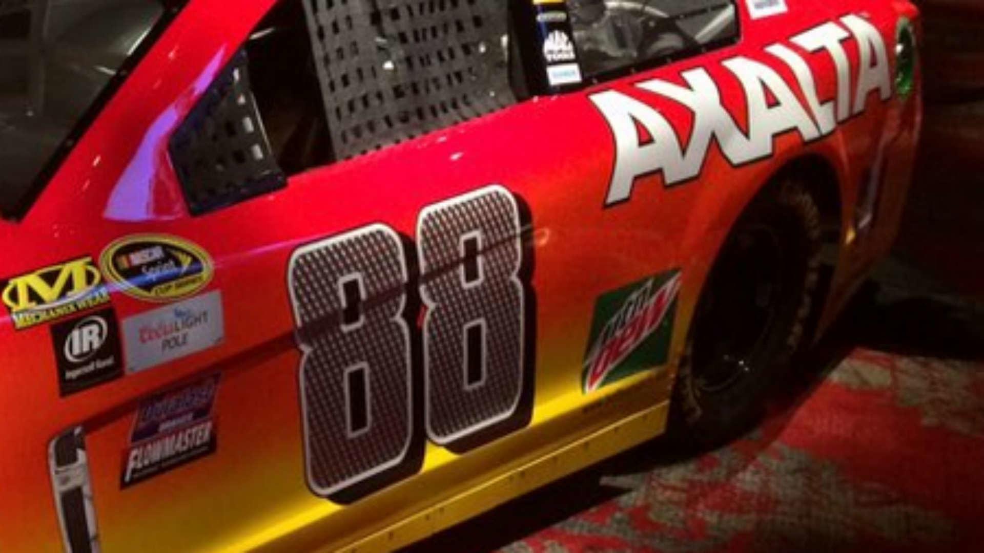 Dale Earnhardt Jr. unveils No. 88 paint scheme   NASCAR   Sporting News