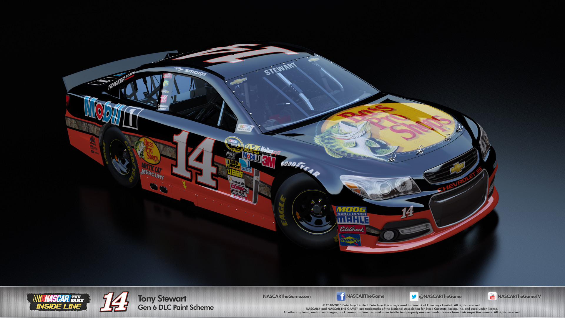 Nascar Wallpaper Tony Stewart
