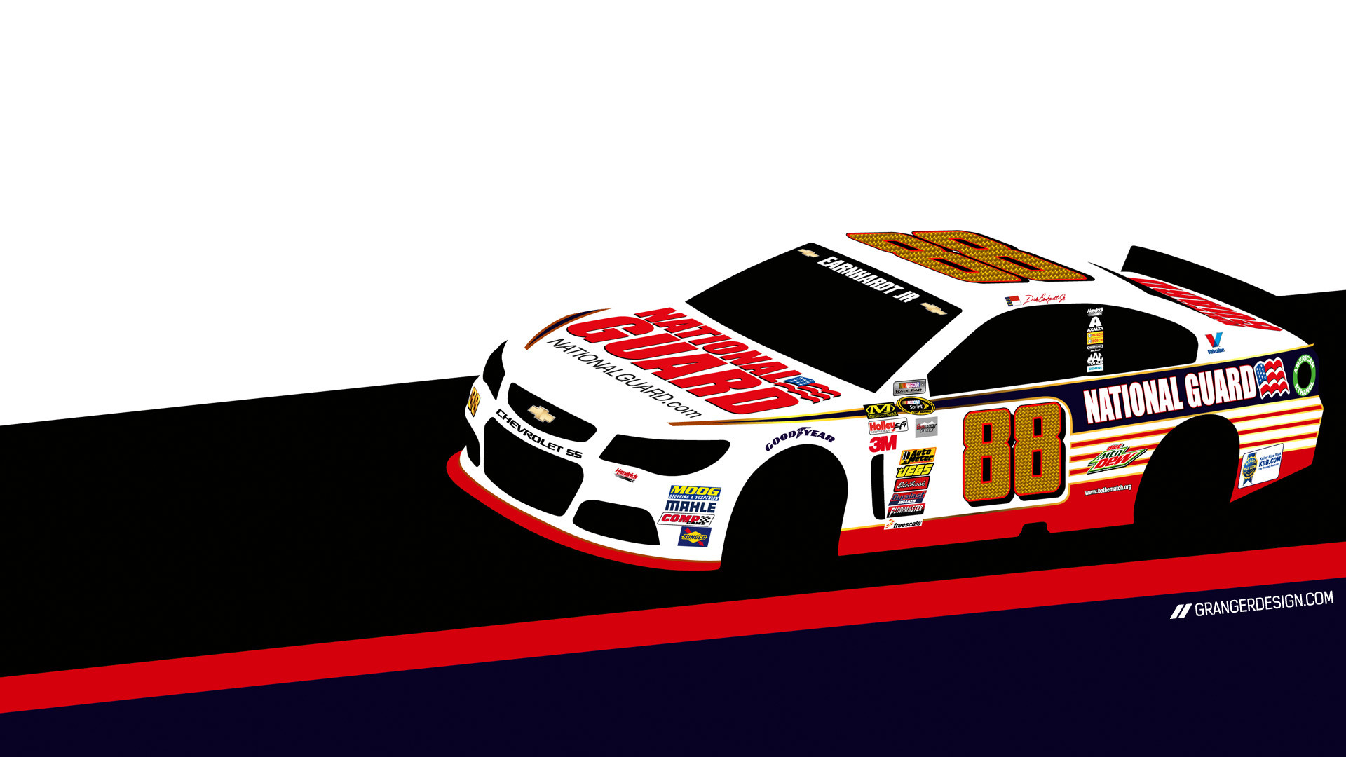 Dale Earnhardt Jr. Desktop Wallpaper. 1920×1080