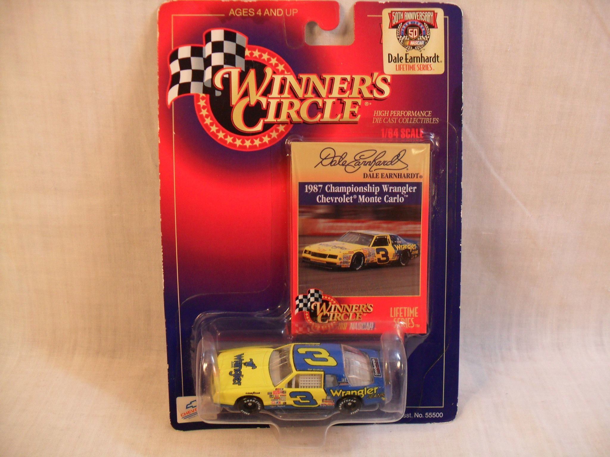 Winners Circle Dale Earnhardt Lifetime Series 1:64 Scale Kenner