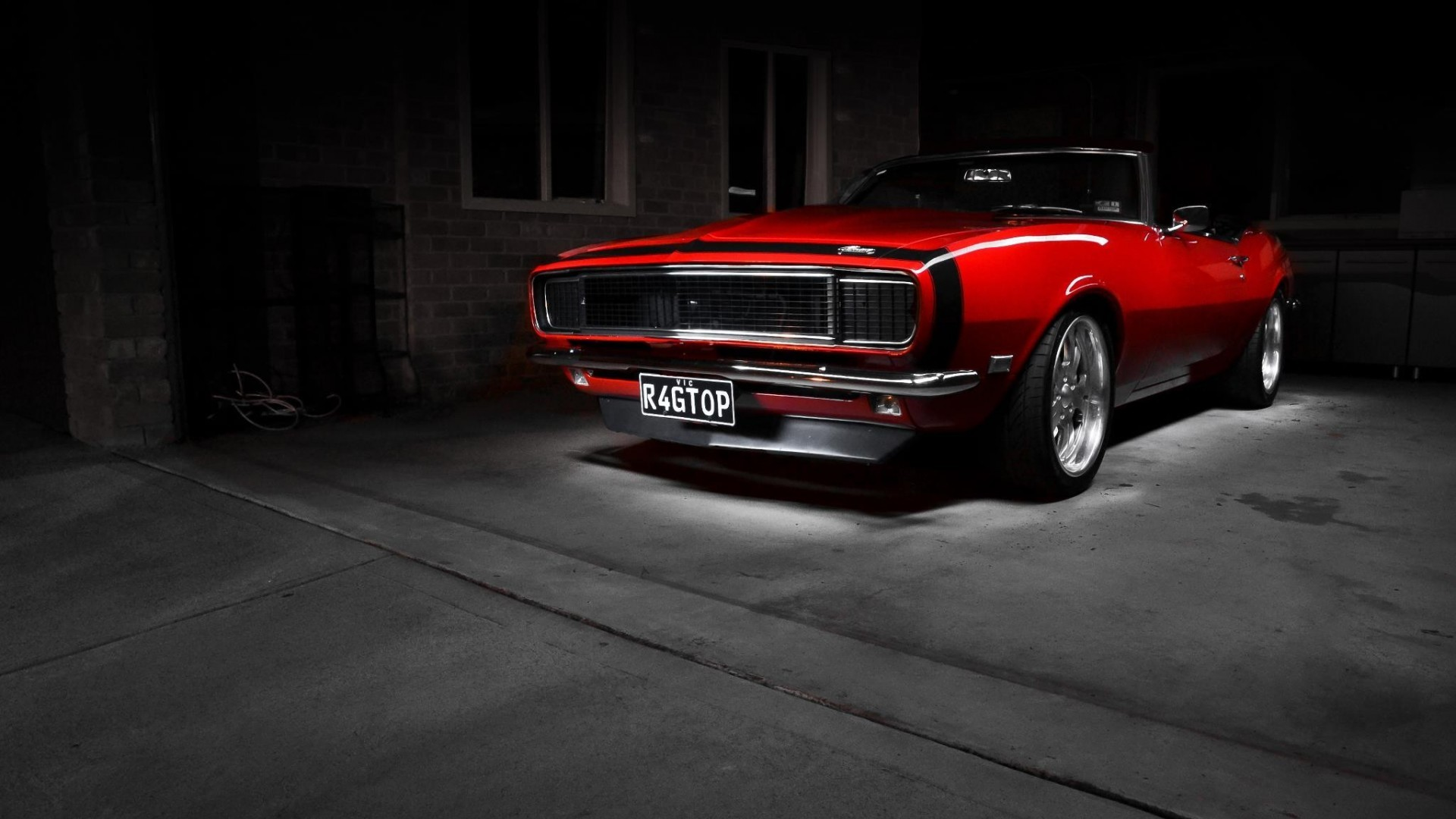 muscle car wallpaper dark