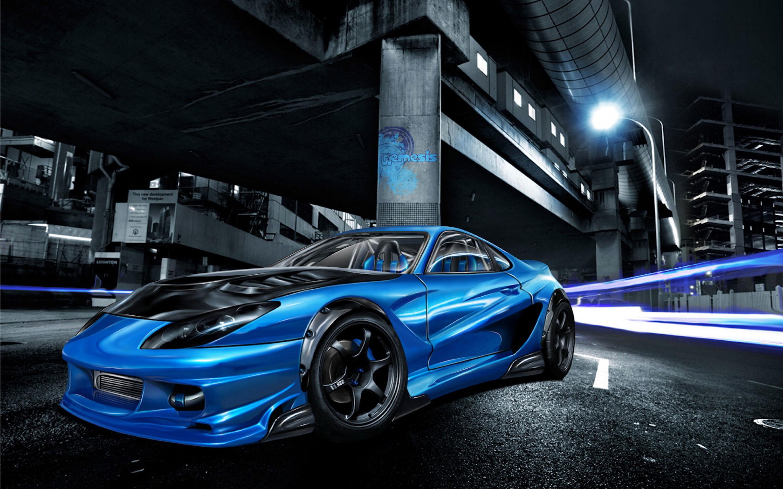 hd 3d racing car wallpaper