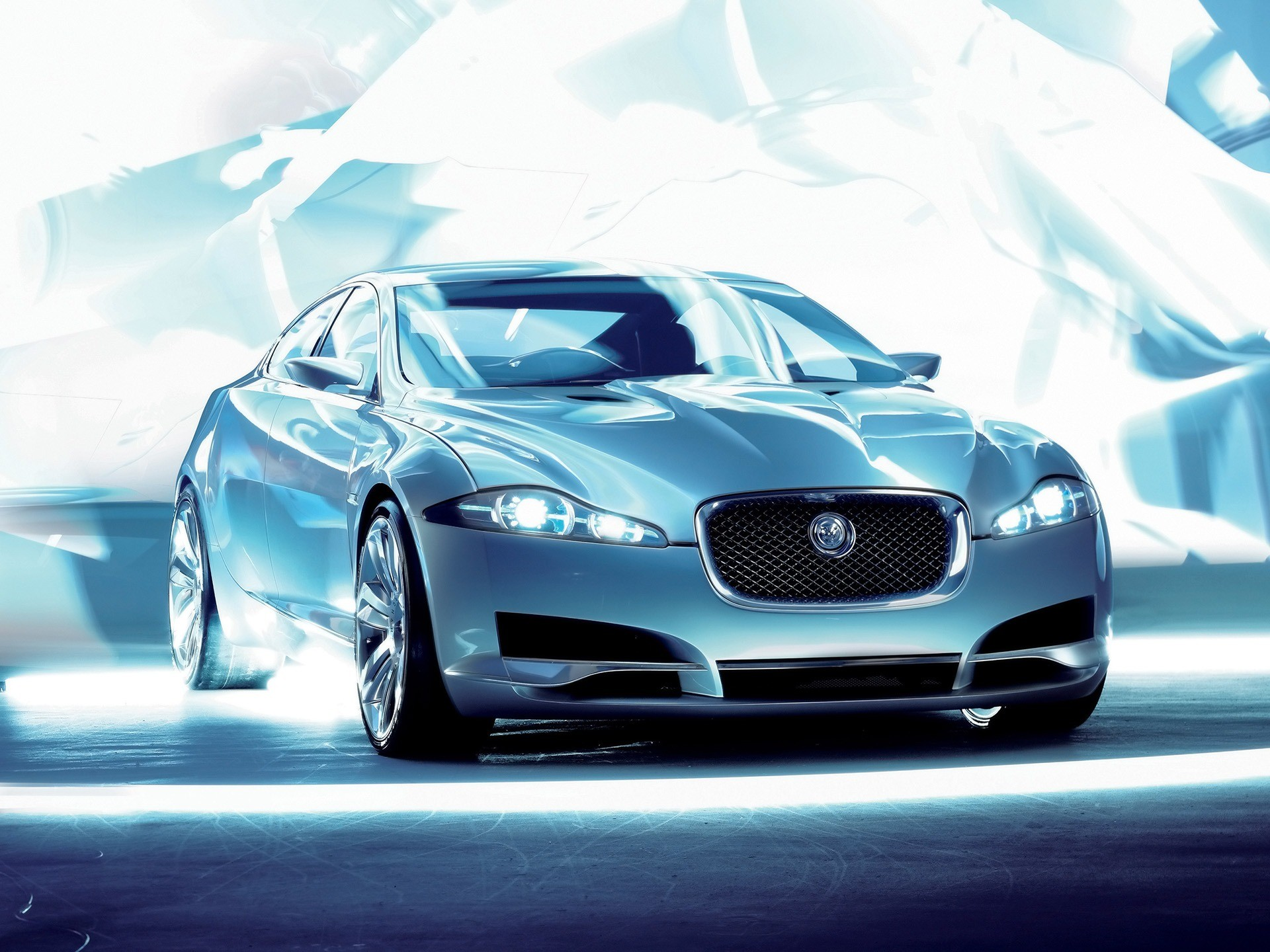 Jaguar C XF Front Angle Wallpaper Concept Cars