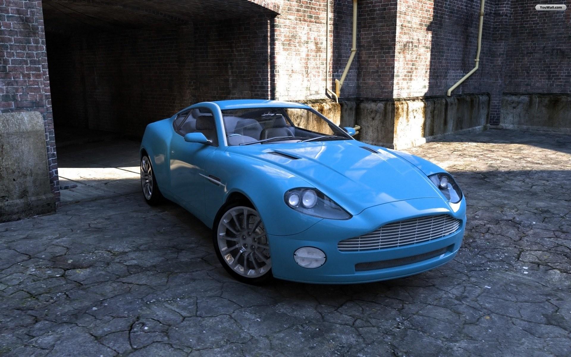 Blue Super Car Wallpaper