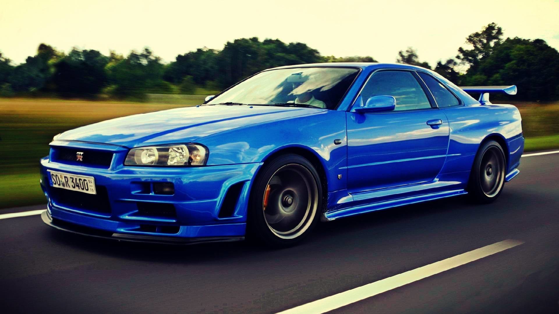 Nissan Skyline GTR R34 Wallpapers Group (89+)