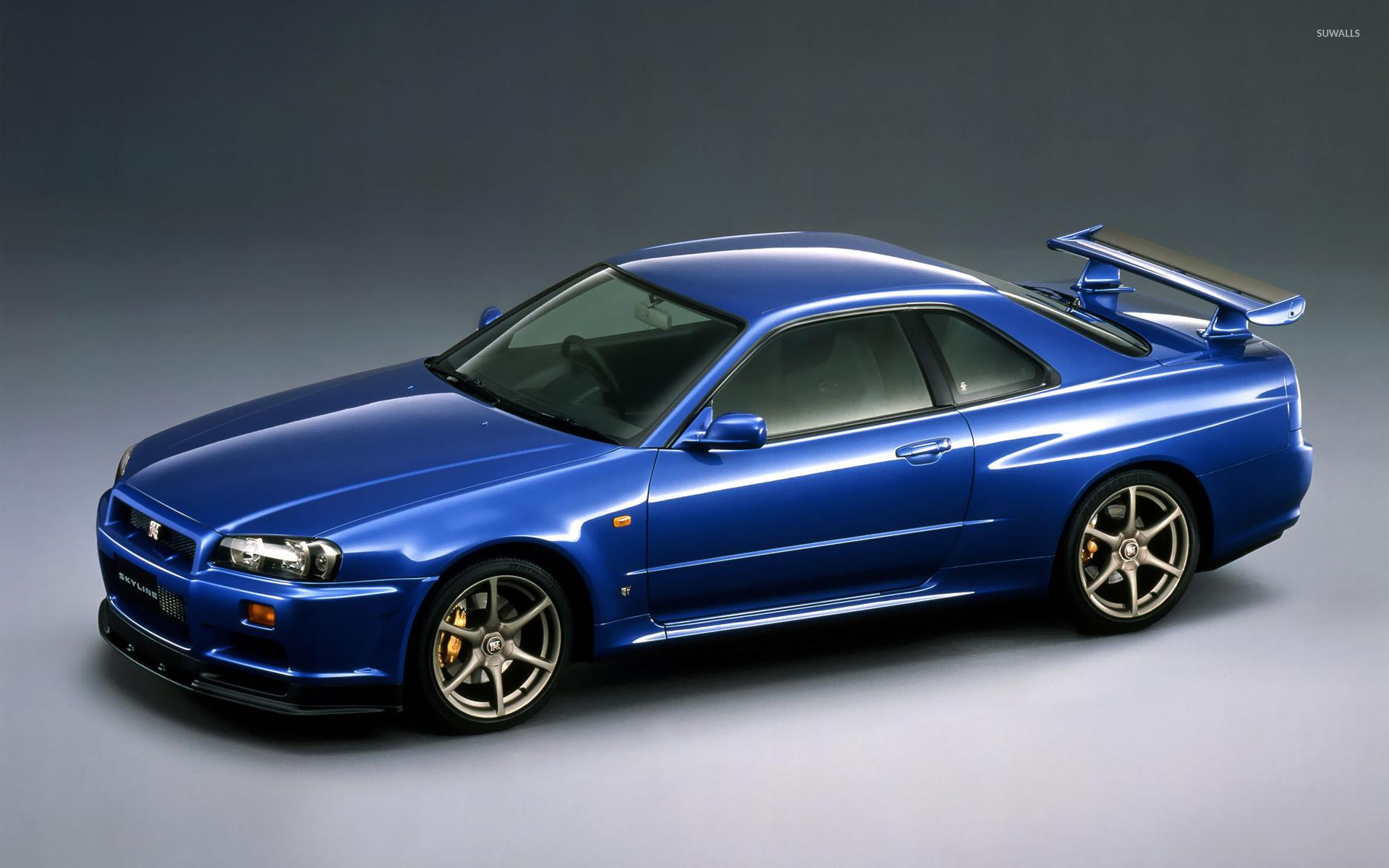 Nissan Skyline GT-R V-spec R34 wallpaper jpg