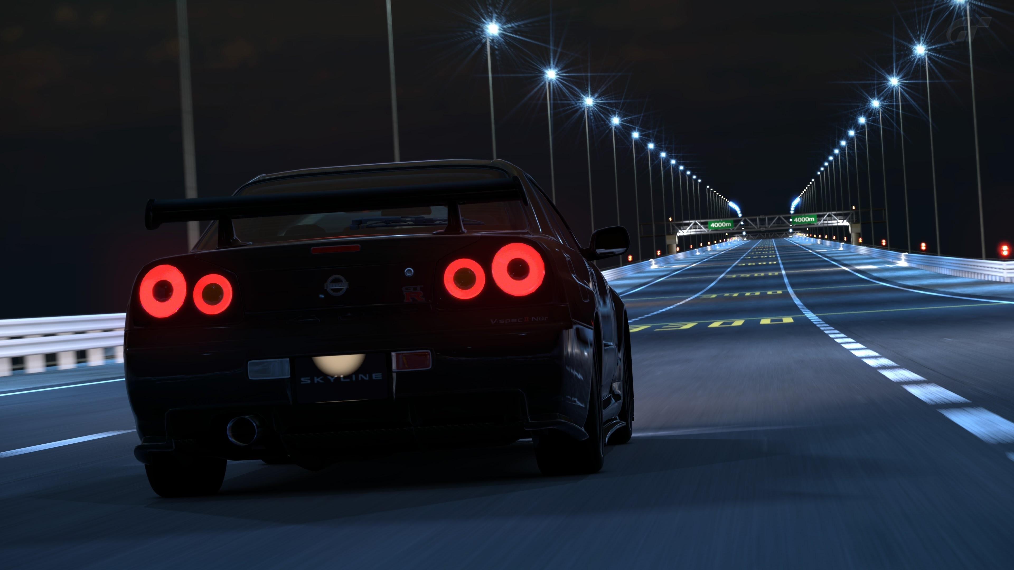Need For Speed 2015: Corridas com ele NISSAN SKYLINE GT-R R34