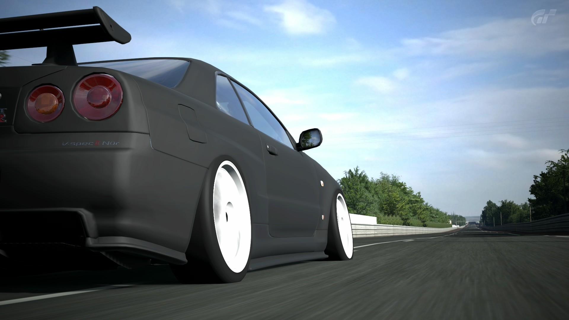 car, Nissan, Nissan Skyline, Nissan Skyline GT R R34