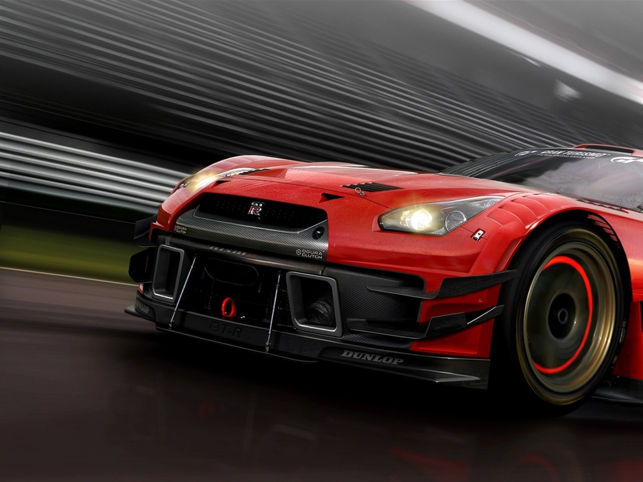 Nissan GTR sport car on nice wallpapers #nissangtr #hdwallpapers  www.yours-cars