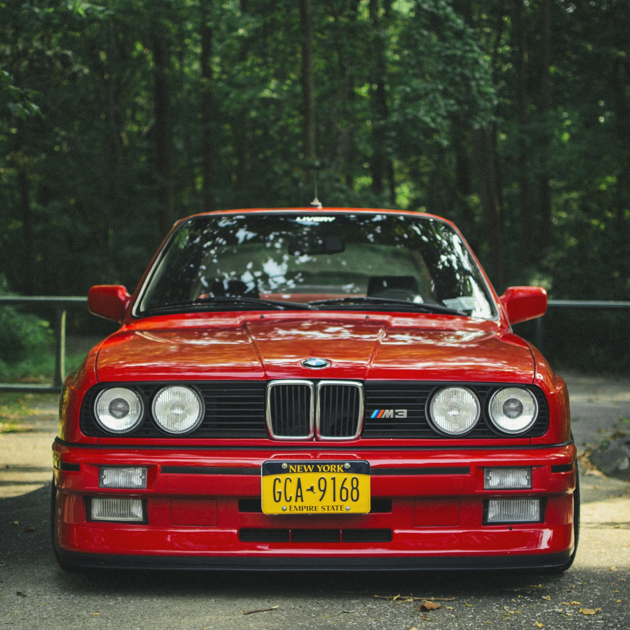 Preview wallpaper bmw, e30, m3, red, tuning 2048×2048