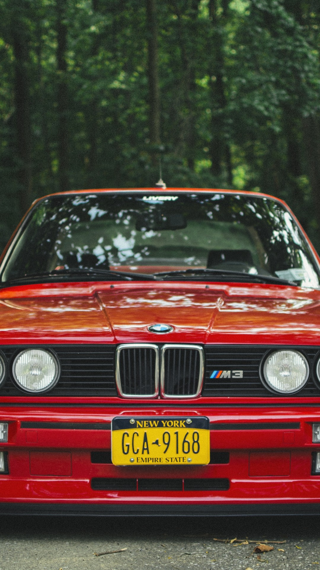 Wallpaper bmw, e30, m3, red, tuning