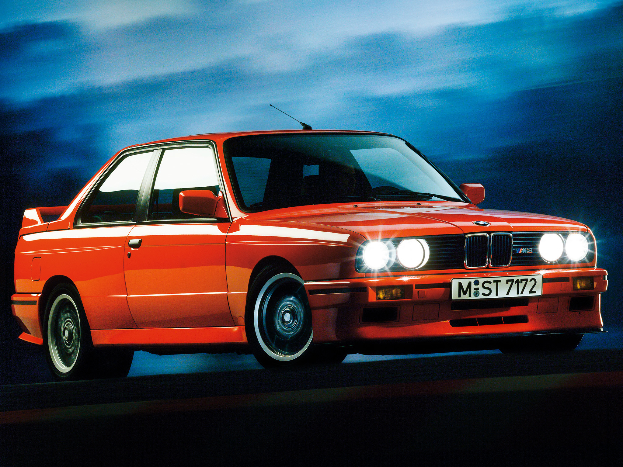 BMW M3 Sport Evolution (E30) '01–03.1990 wallpaper