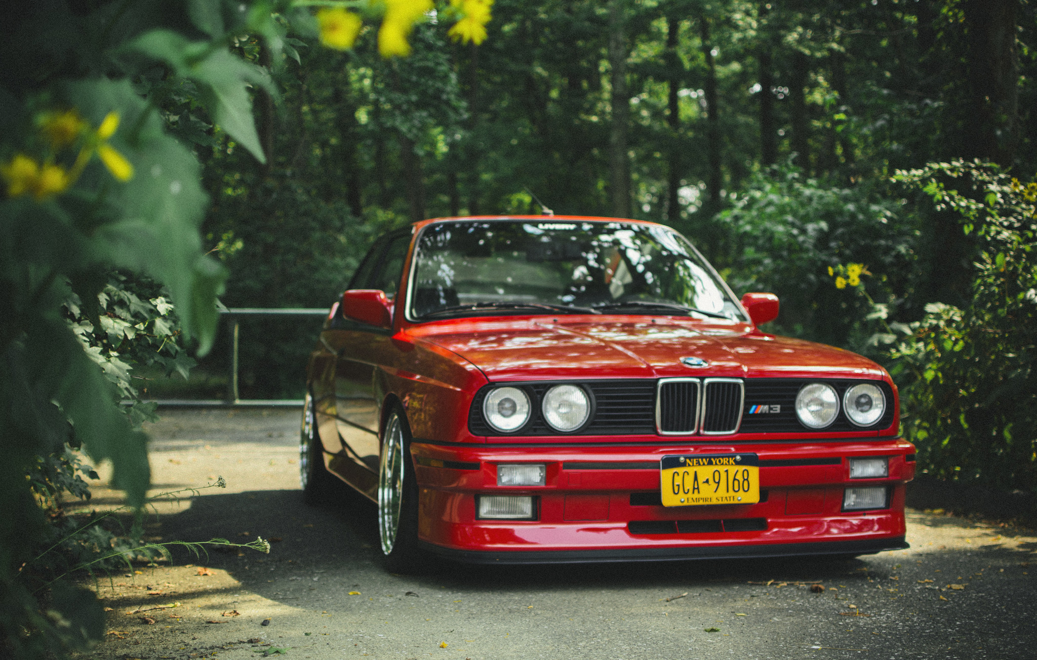 Bmw, e30, m3, red, tuning, bmw, m3, red,