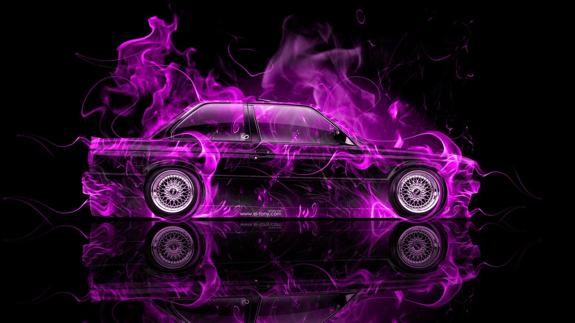 Download Wallpaper Bmw, E, M, Red, Tuning Full HD 640×960