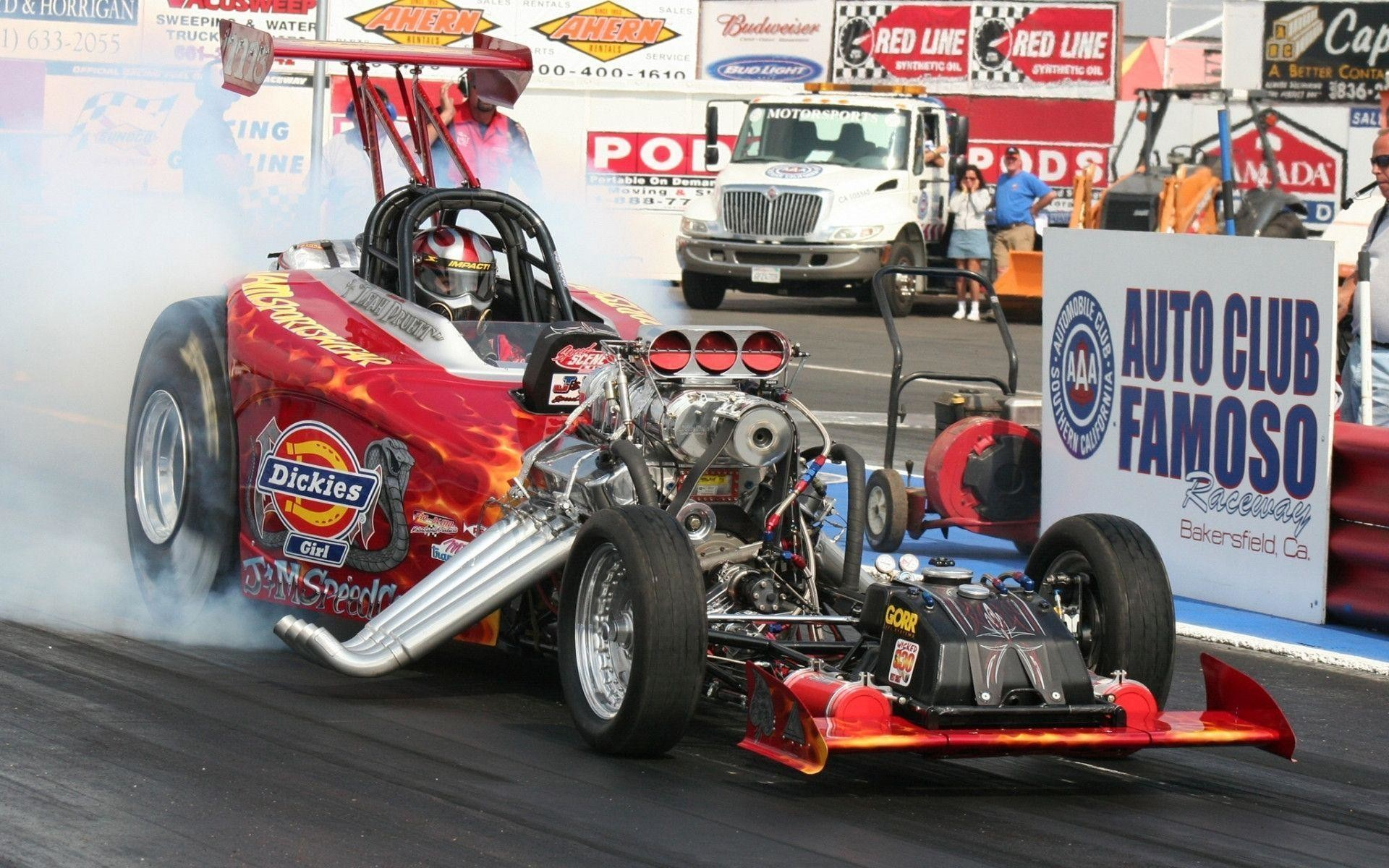 Nhra drag racing track hot rod retro engine cars wallpaper .