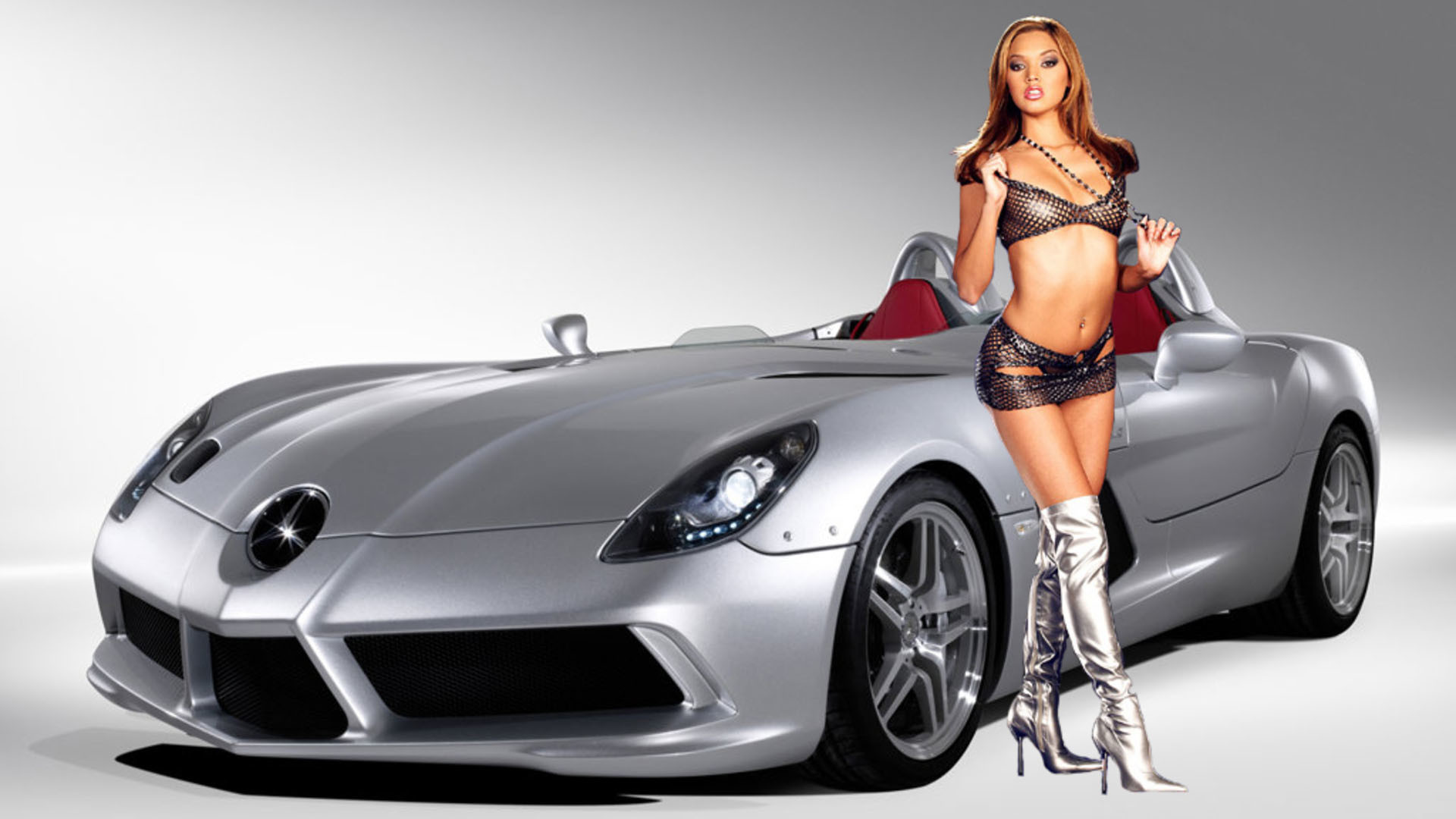 Wallpaper Girls And Cars