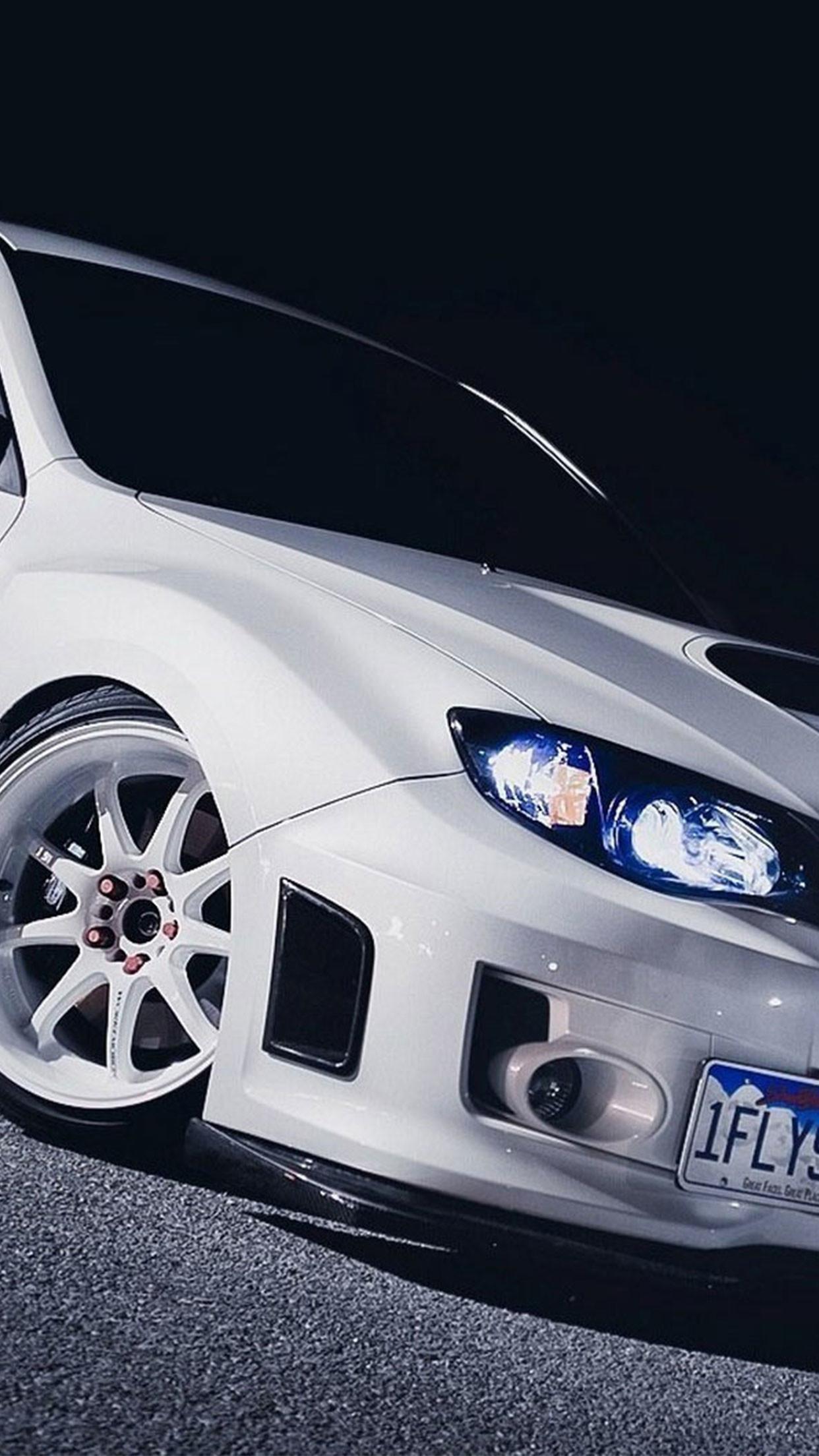 Subaru white car wallpaper for #Iphone #android #subaru #wallpaper more on  wallzapp