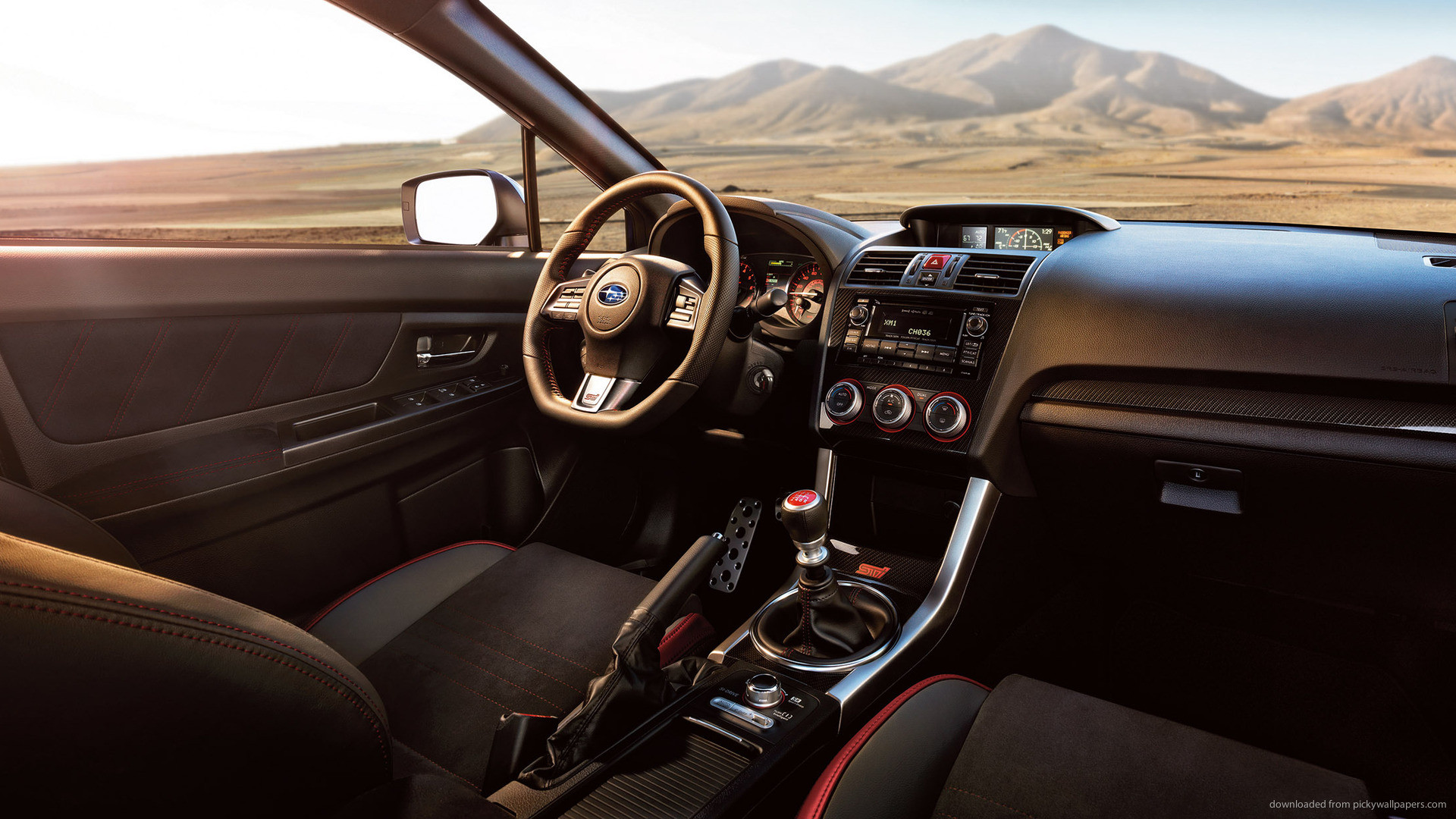 Subaru WRX STI Launch Edition Interior picture