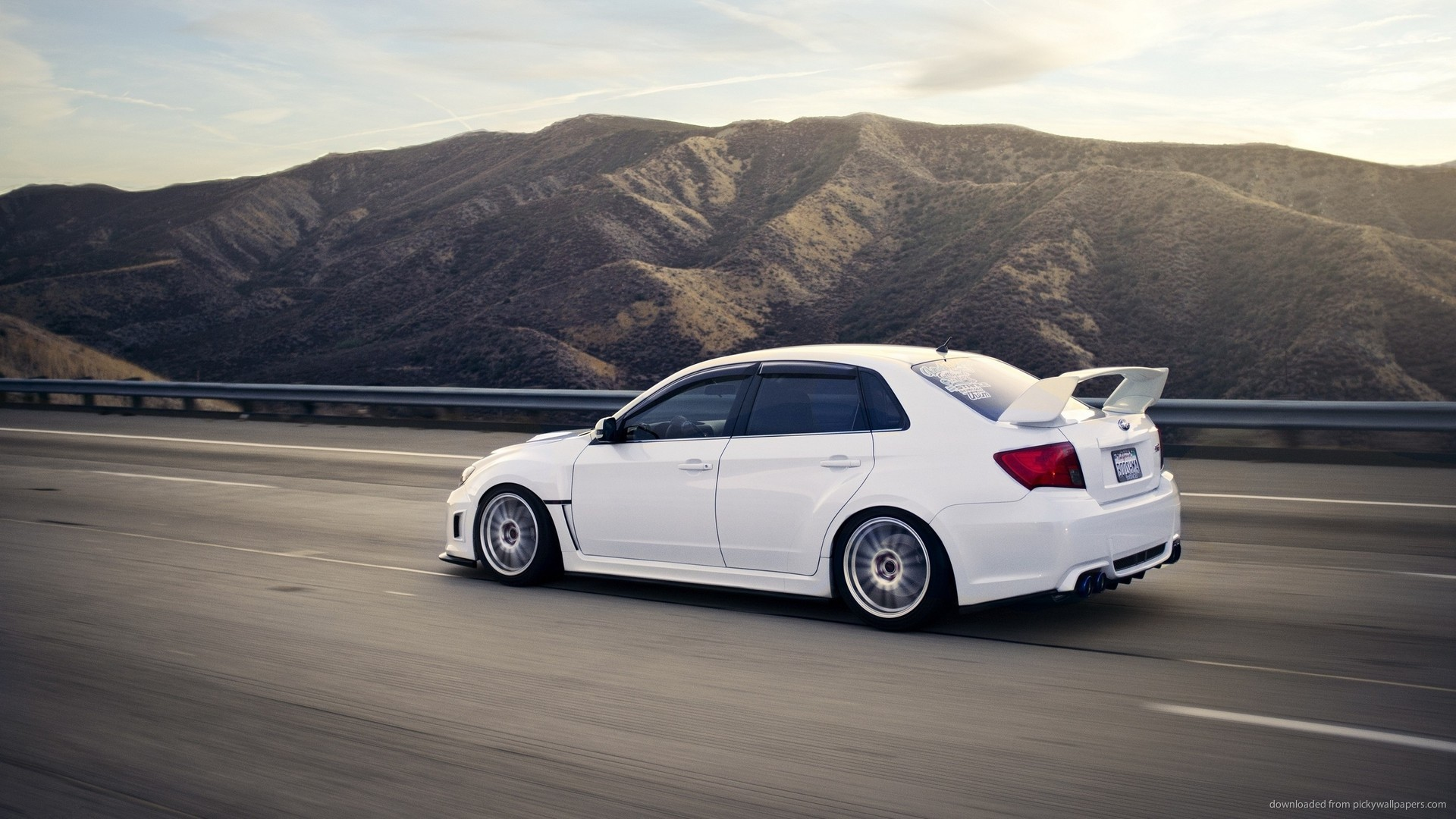 Subaru Impreza WRX STI S206 Back picture