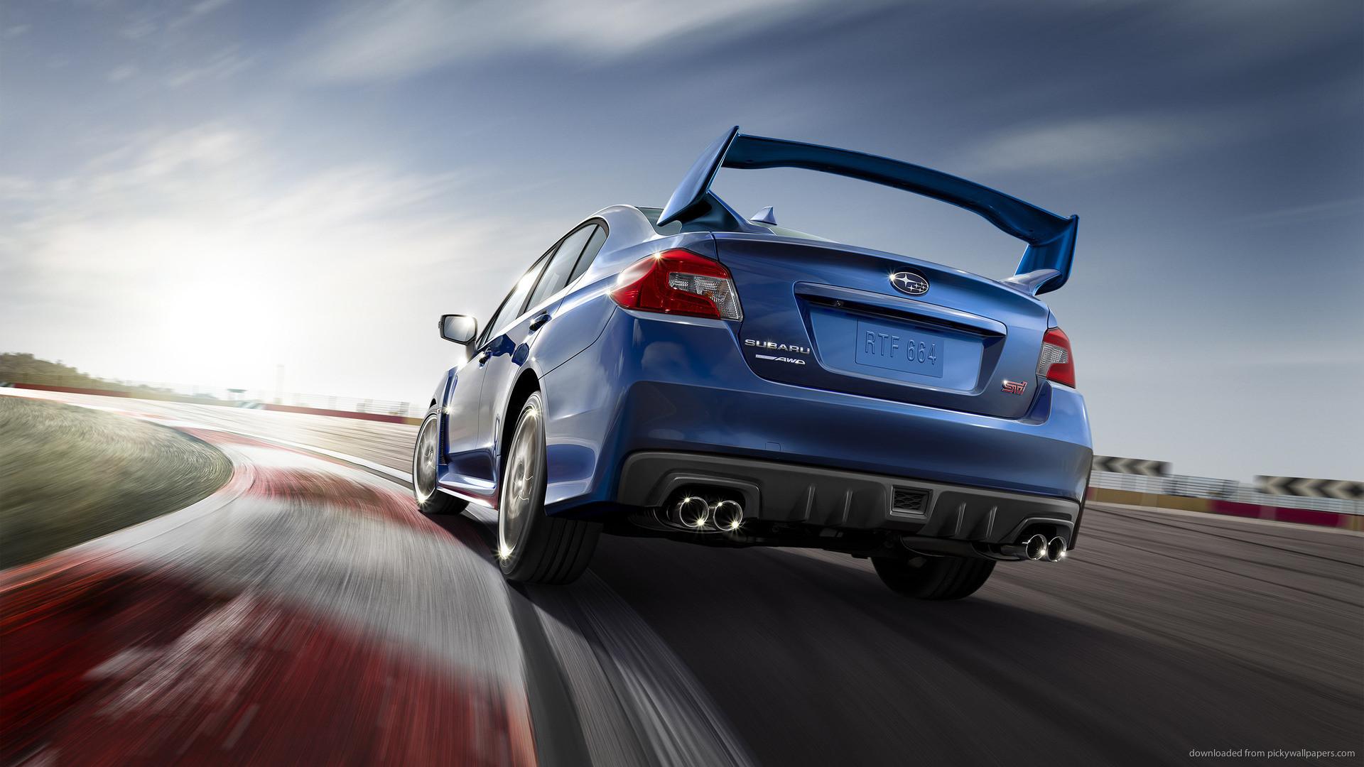 Subaru WRX STI Launch Edition Back picture