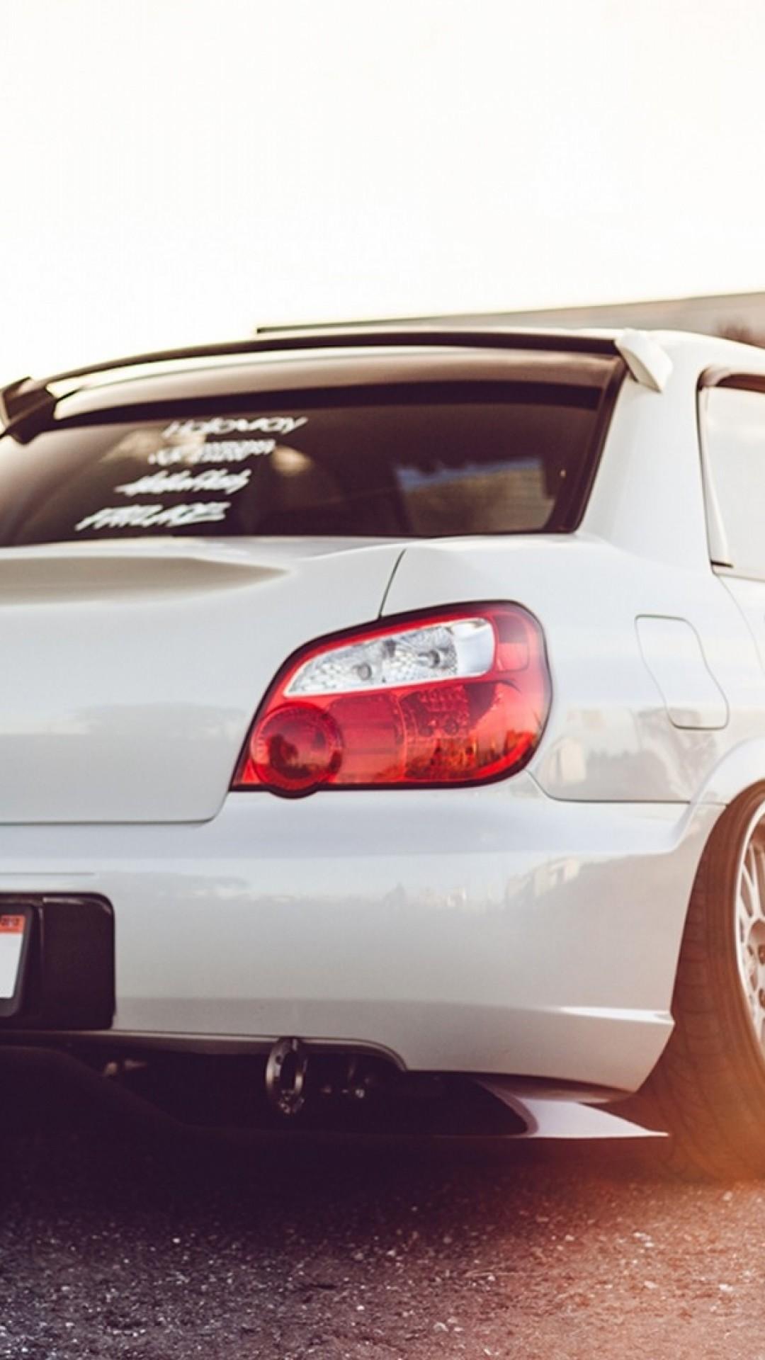 Wallpaper subaru impreza wrx sti, auto, white, sports car