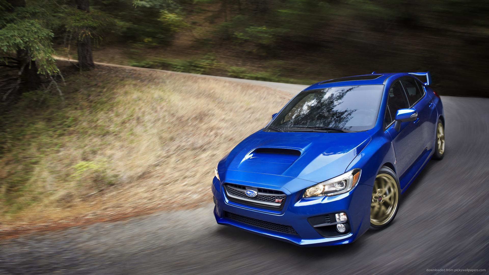 Subaru WRX STI Launch Edition On The Road picture