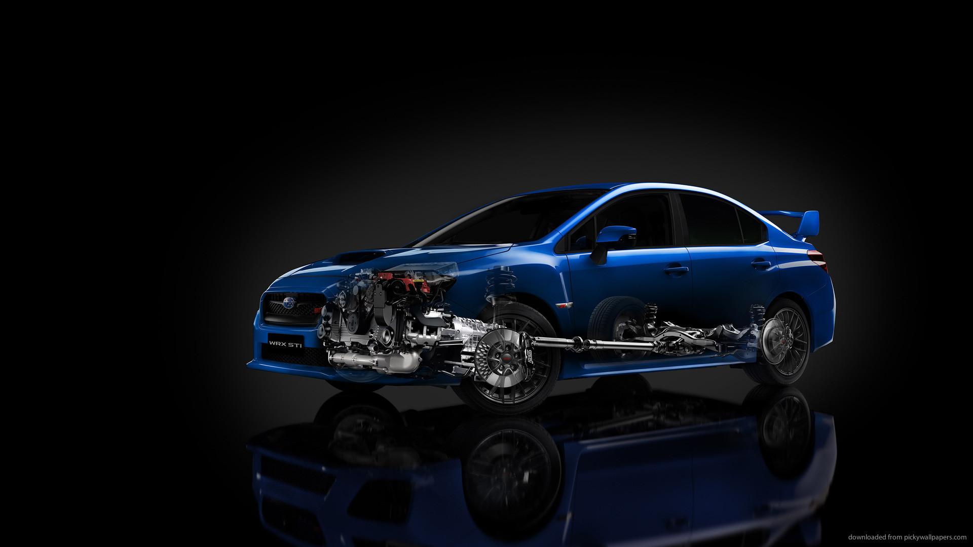 Transparent Subaru WRX STI Launch Edition picture