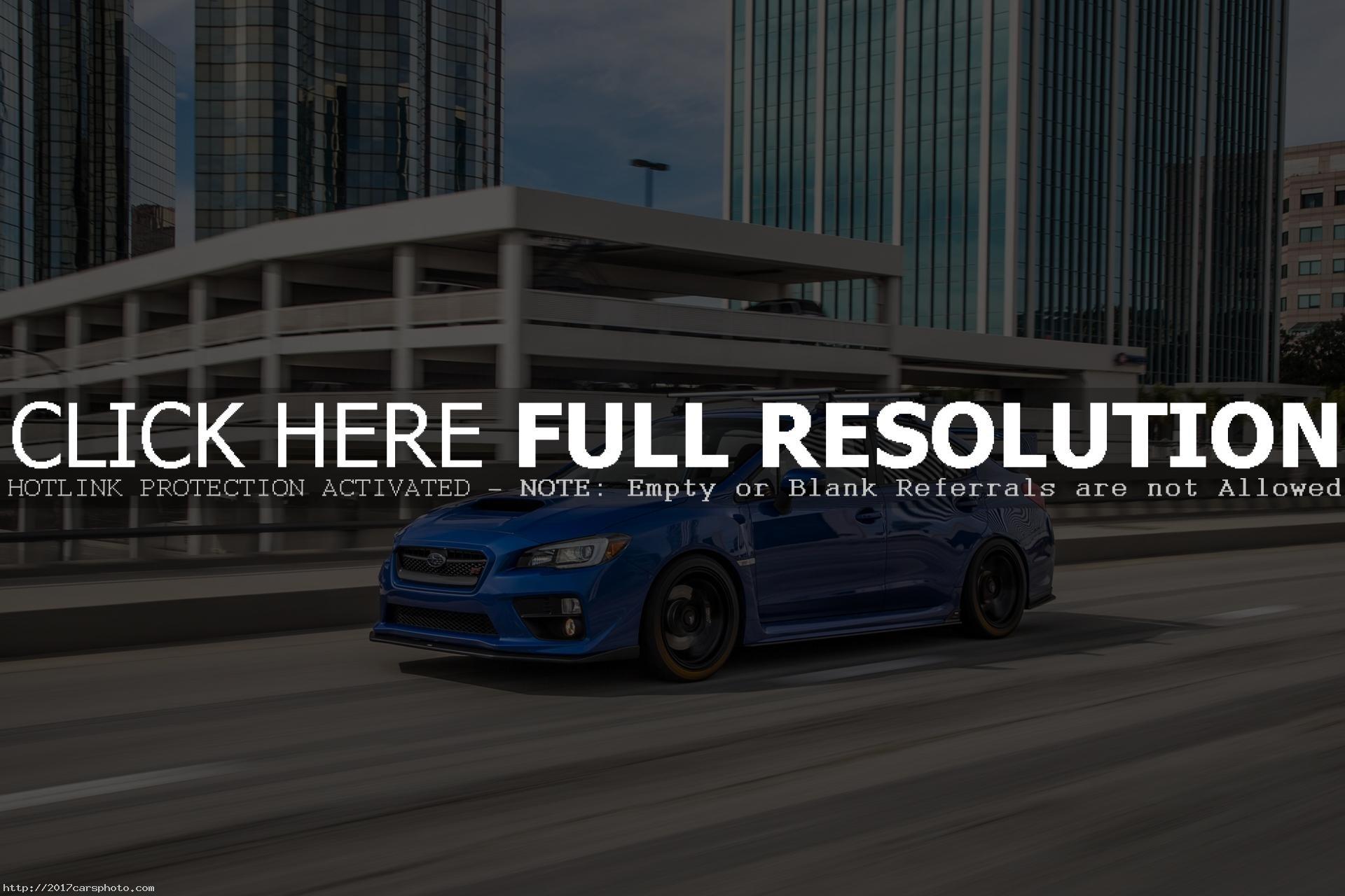 2017 Subaru WRX STI Iphone