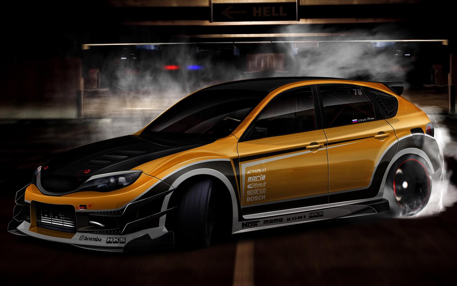 Cars Subaru Impreza WRX STI Tuning 30510