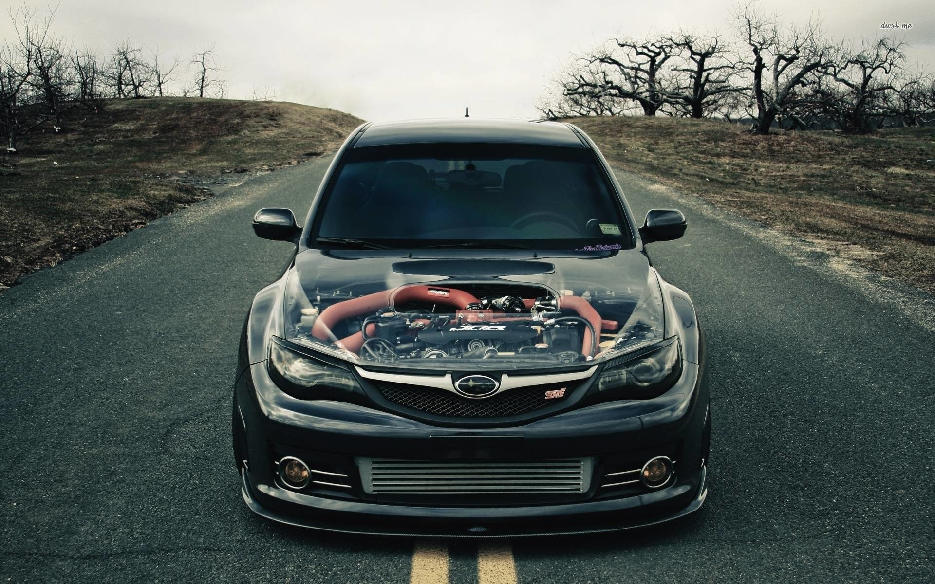Subaru Impreza WRX STi wallpaper – Car wallpapers – #